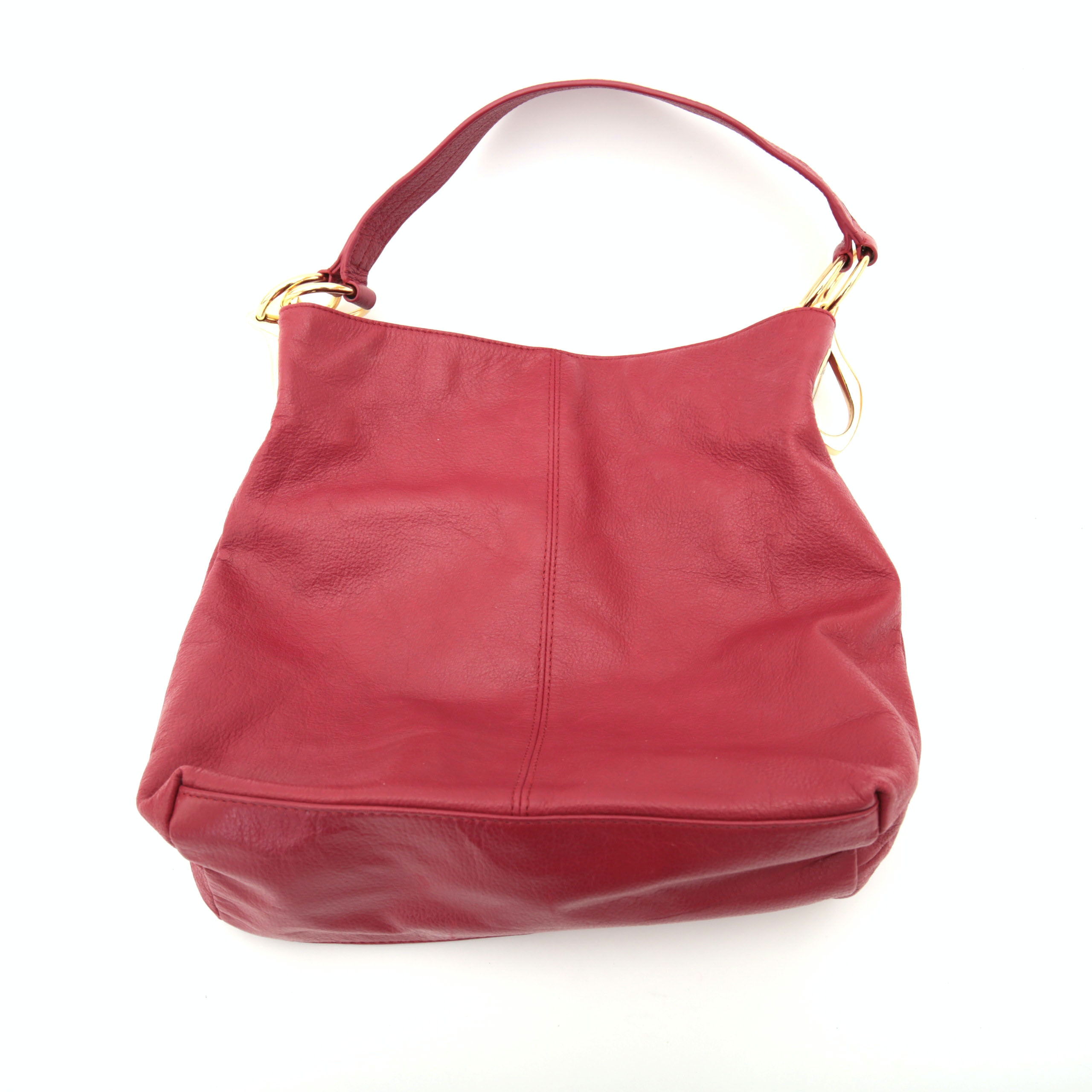 JPK Red Leather Tote Bag