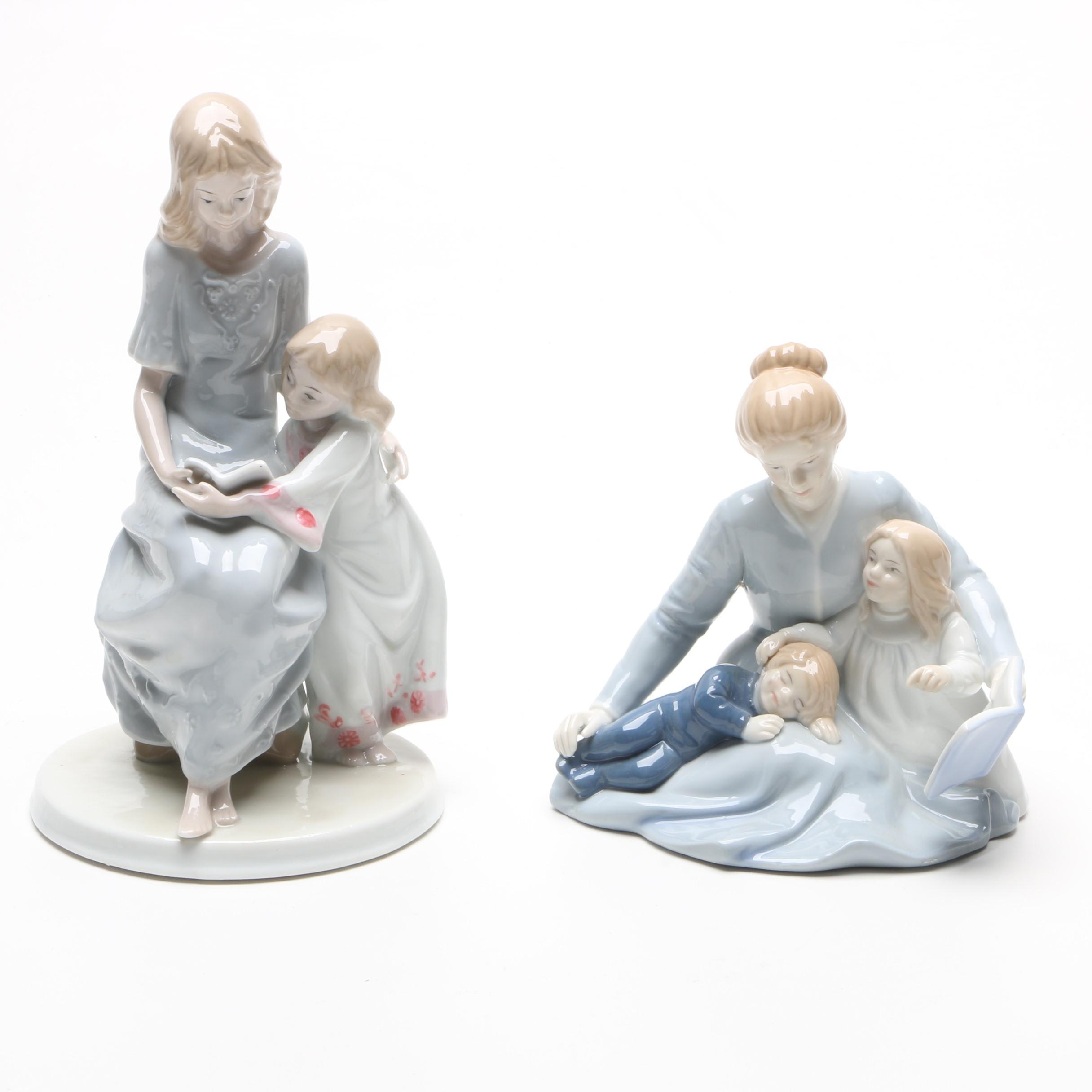 "Avon ""A Mother's Touch"" Porcelain Figurine and More"