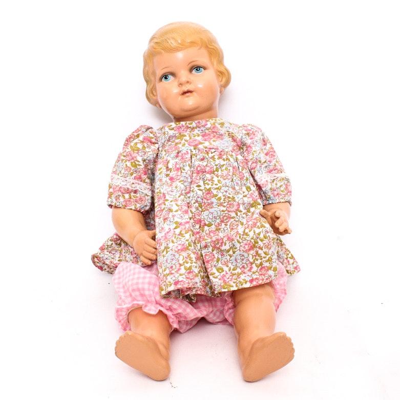 Vintage Schutz Marke Doll