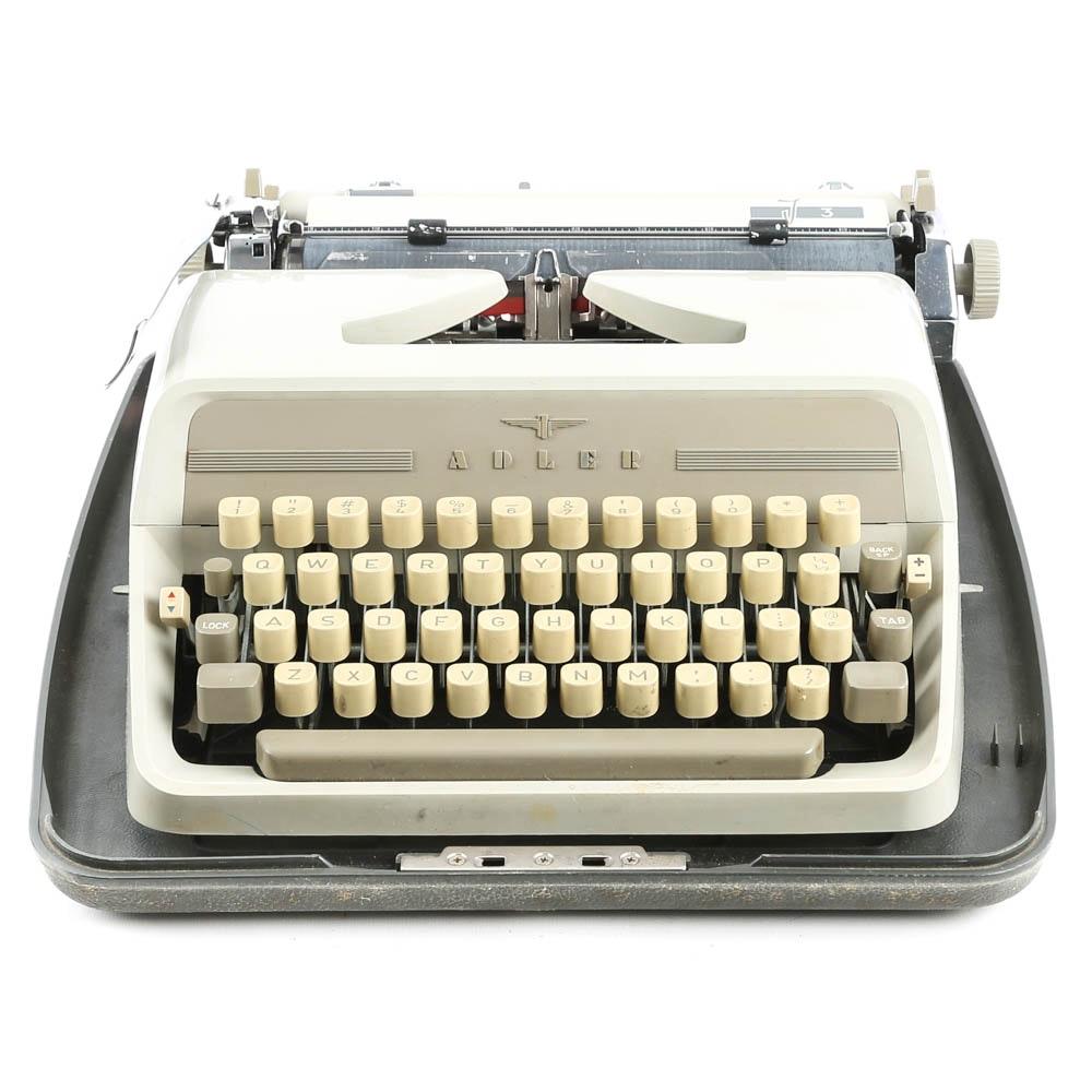 """Vintage Adler """"Tippa 3"""" Portable Typewriter"""