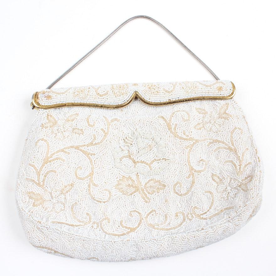 01d461cec6b5 Vintage French Beaded Handbag   EBTH