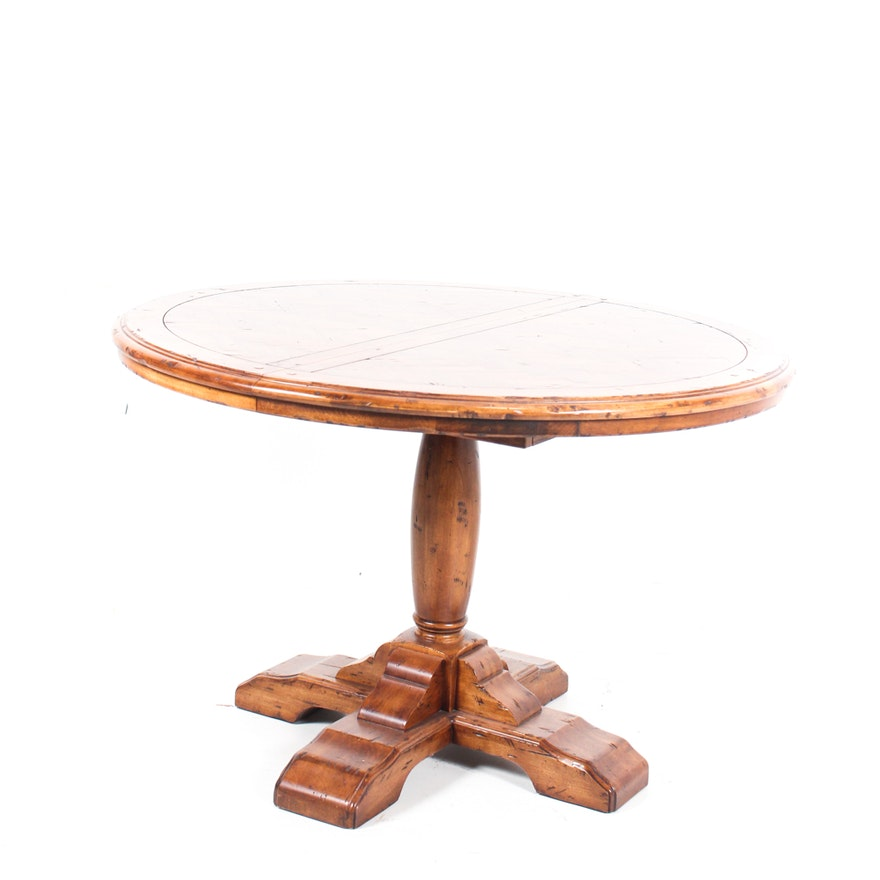 Fremarc Designs Wood Parquet Game Table EBTH - Fremarc dining table