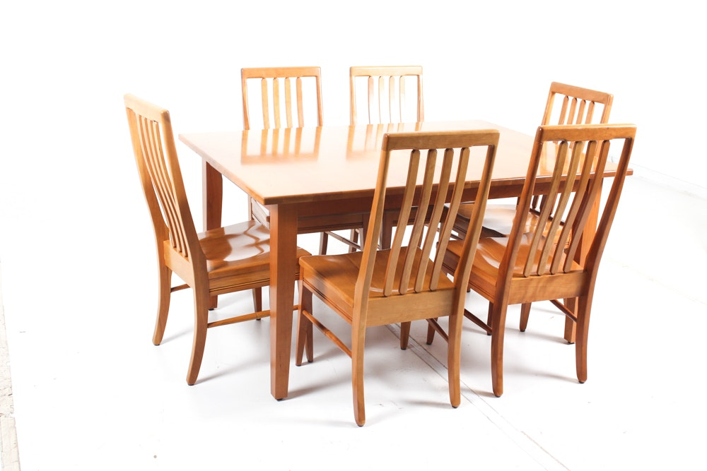 Mission Style Dining Room Table And Chairs ...