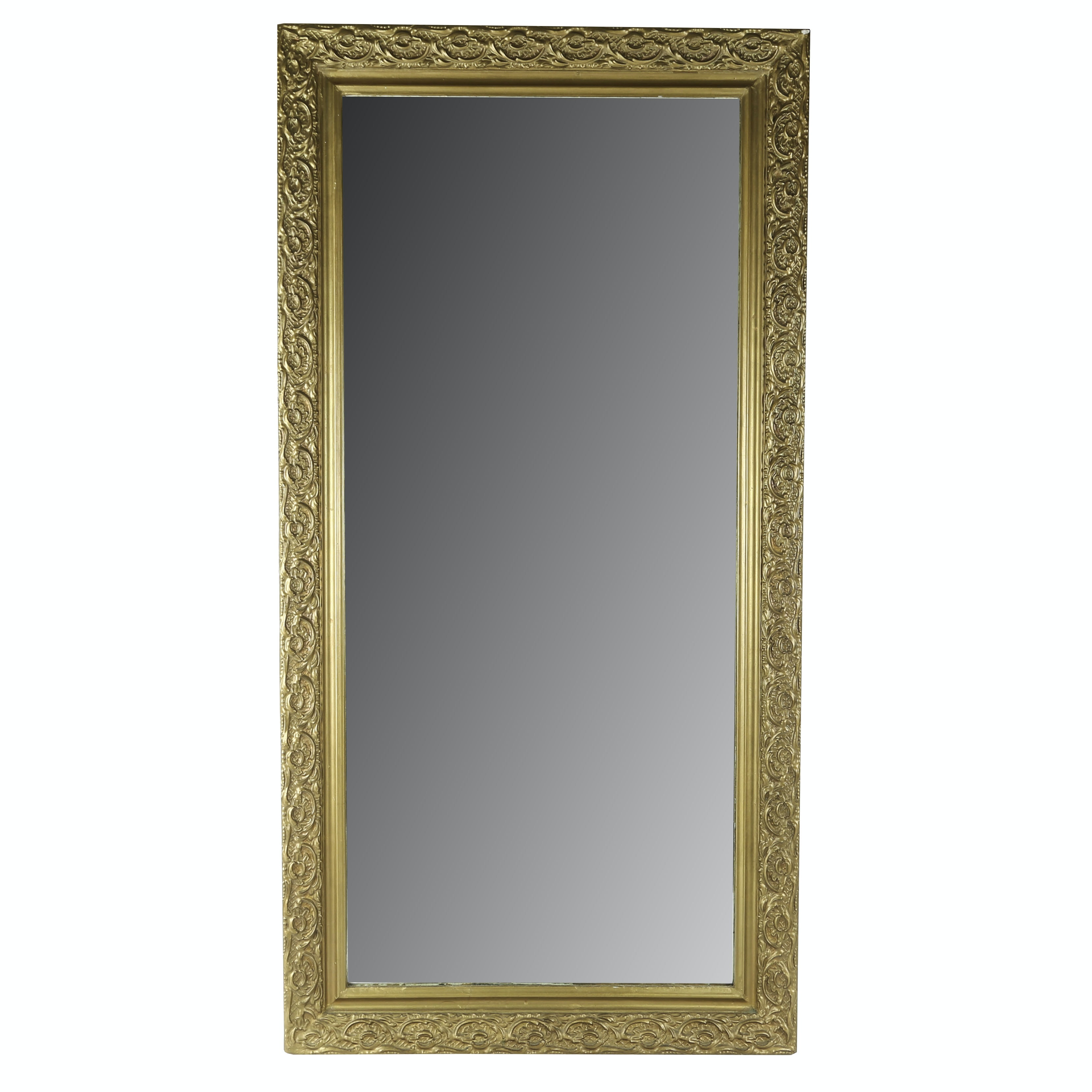 Antique Gold Painted Mirror
