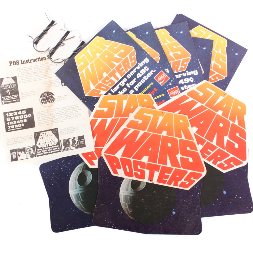 "1977 ""Star Wars"" Point of Sale and Mobile Displays From Burger Chef"