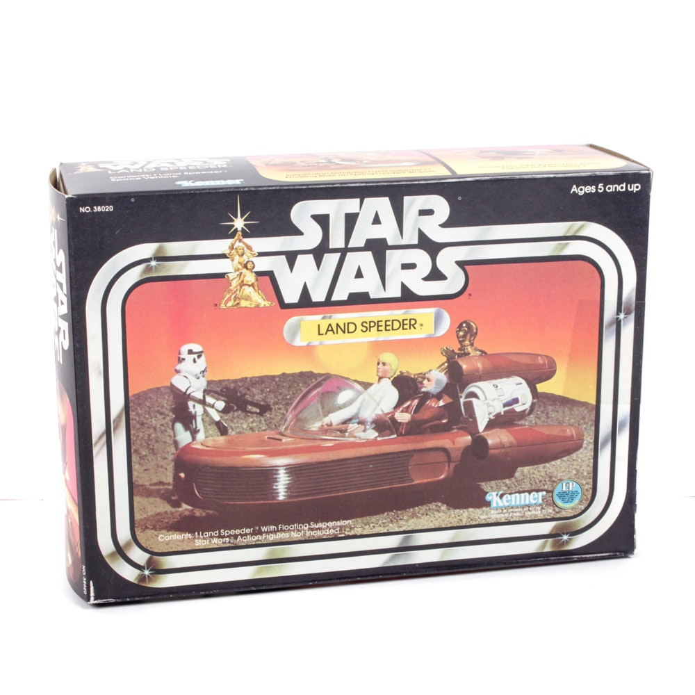 "1977 Land Speeder ""Star Wars"" Kenner Action Figure Vehicle"