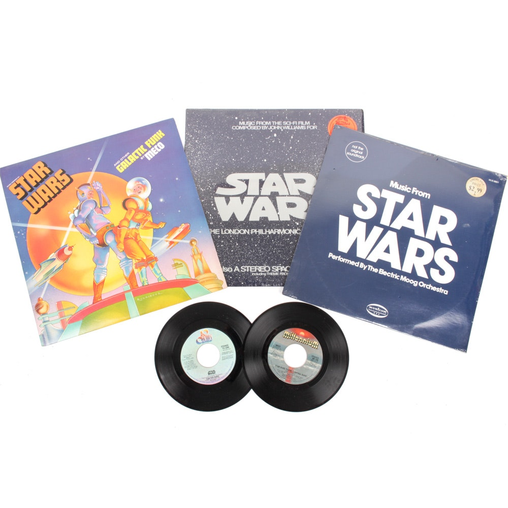 """Star Wars"" Inspired Record Collection"