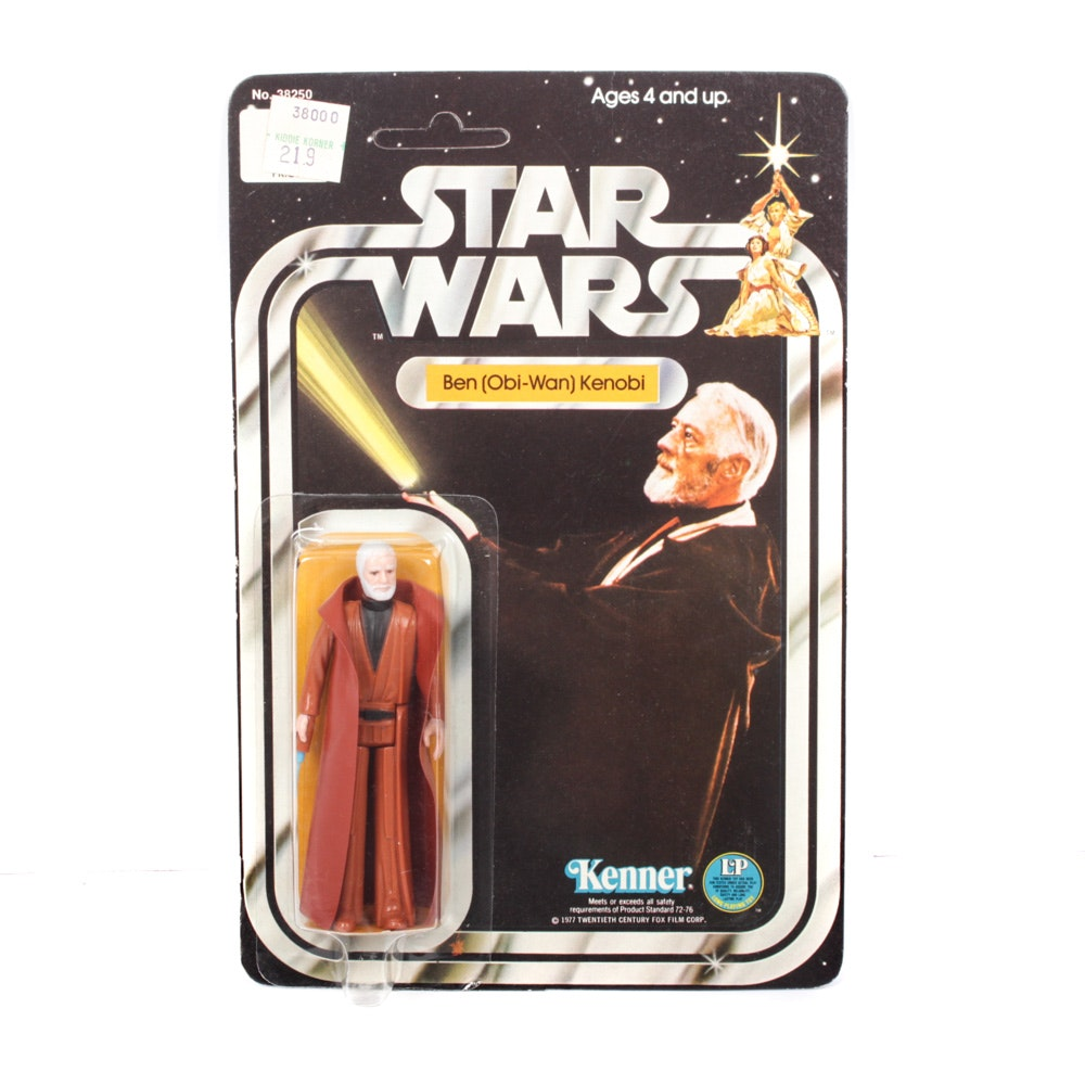 "1977 Ben (Obi-Wan) Kenobi ""Star Wars"" Kenner Action Figure"
