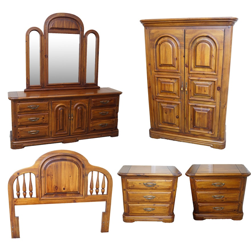 Five Piece Furniture Suite By Burlington House Furniture Ebth