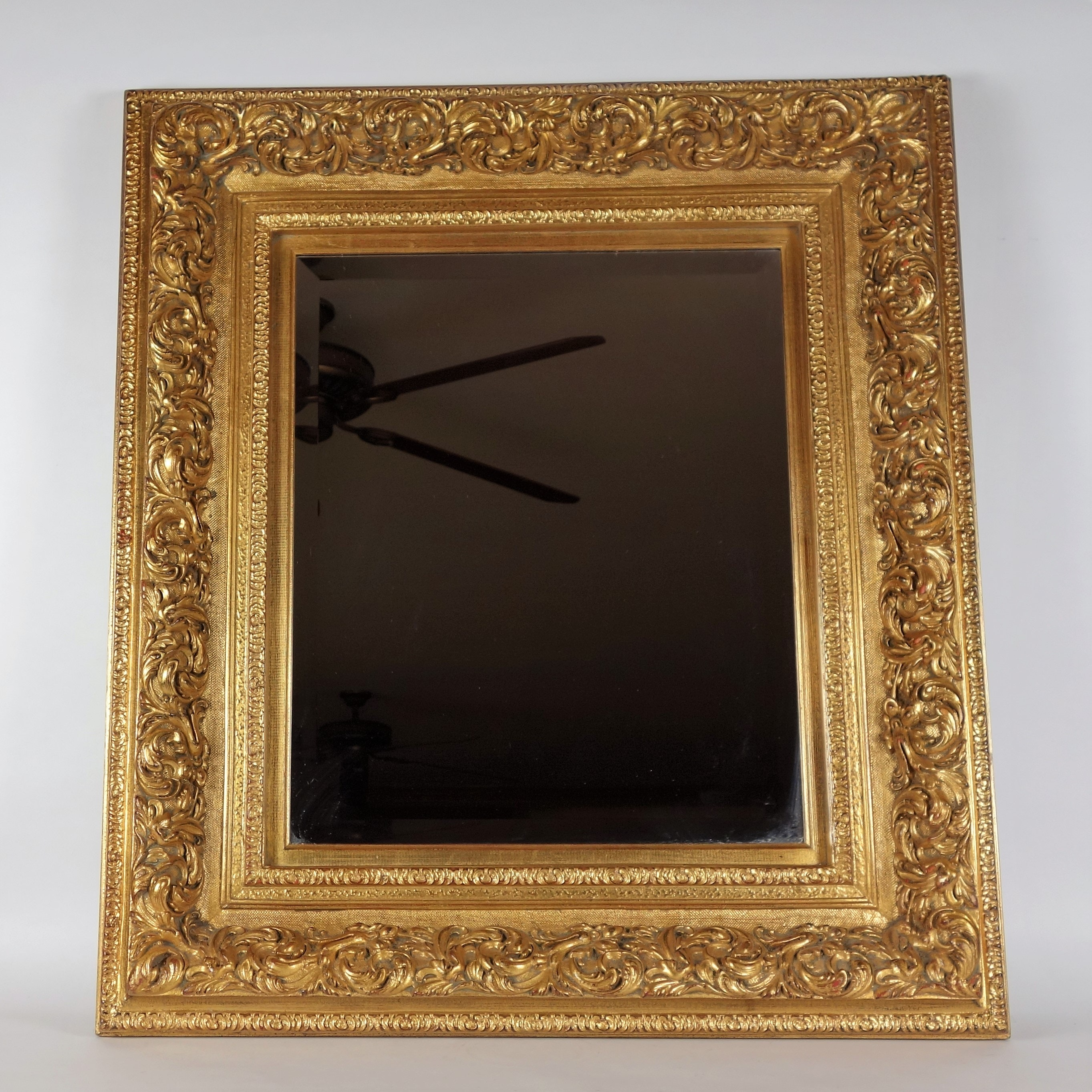 Gold Toned Wall Mirror
