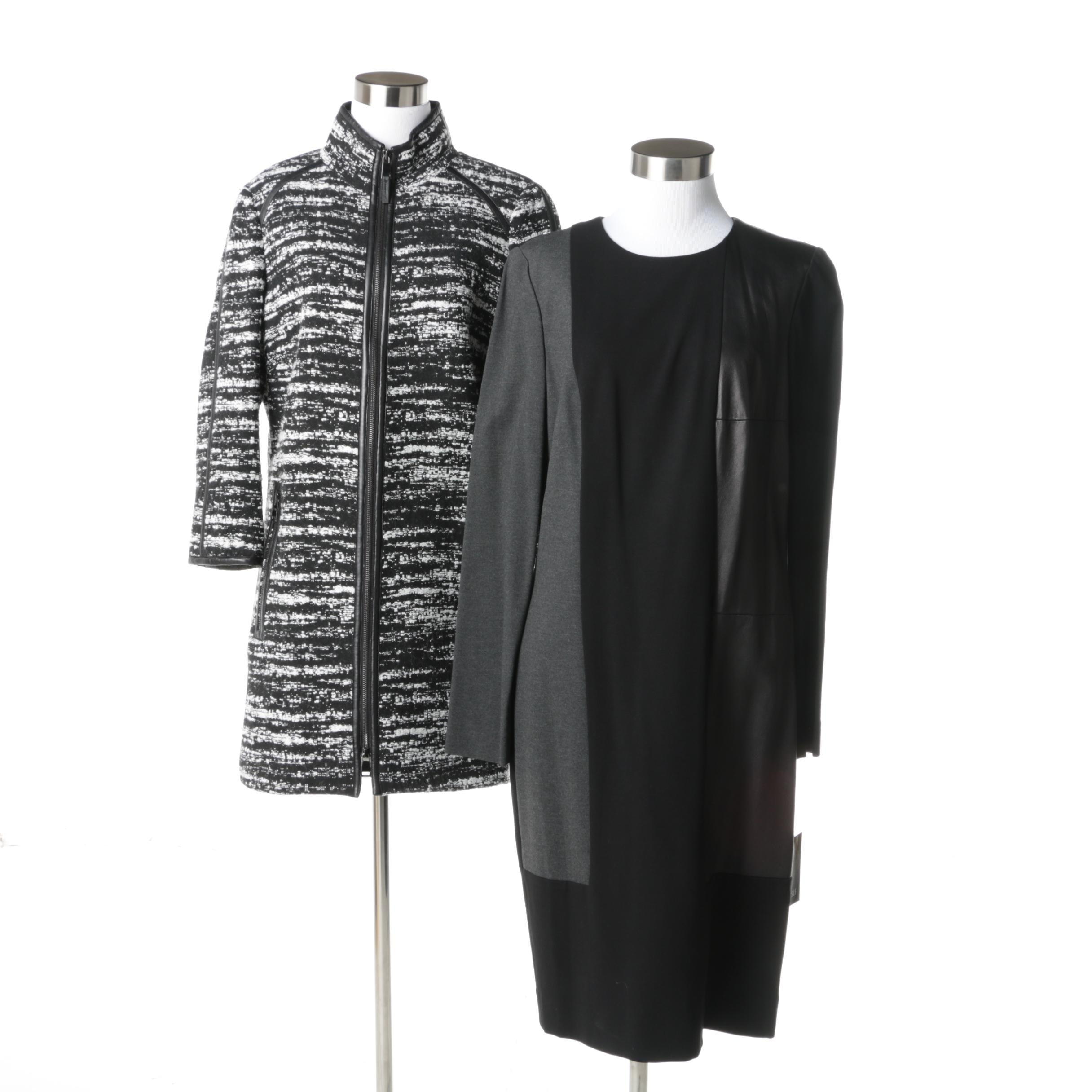 Carlisle Dress and Sweater Coat