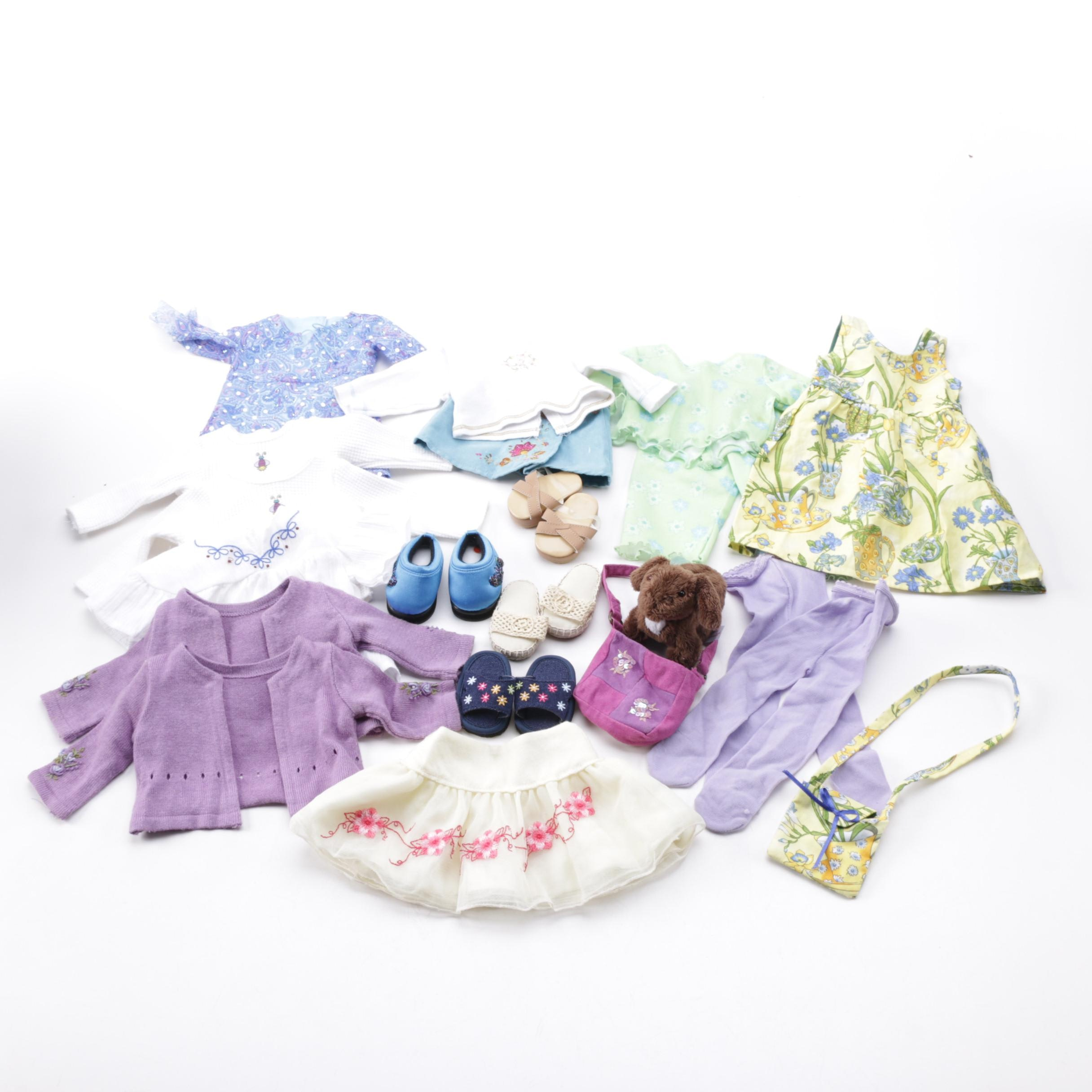 American Girl Doll Summery Clothing and Accessories