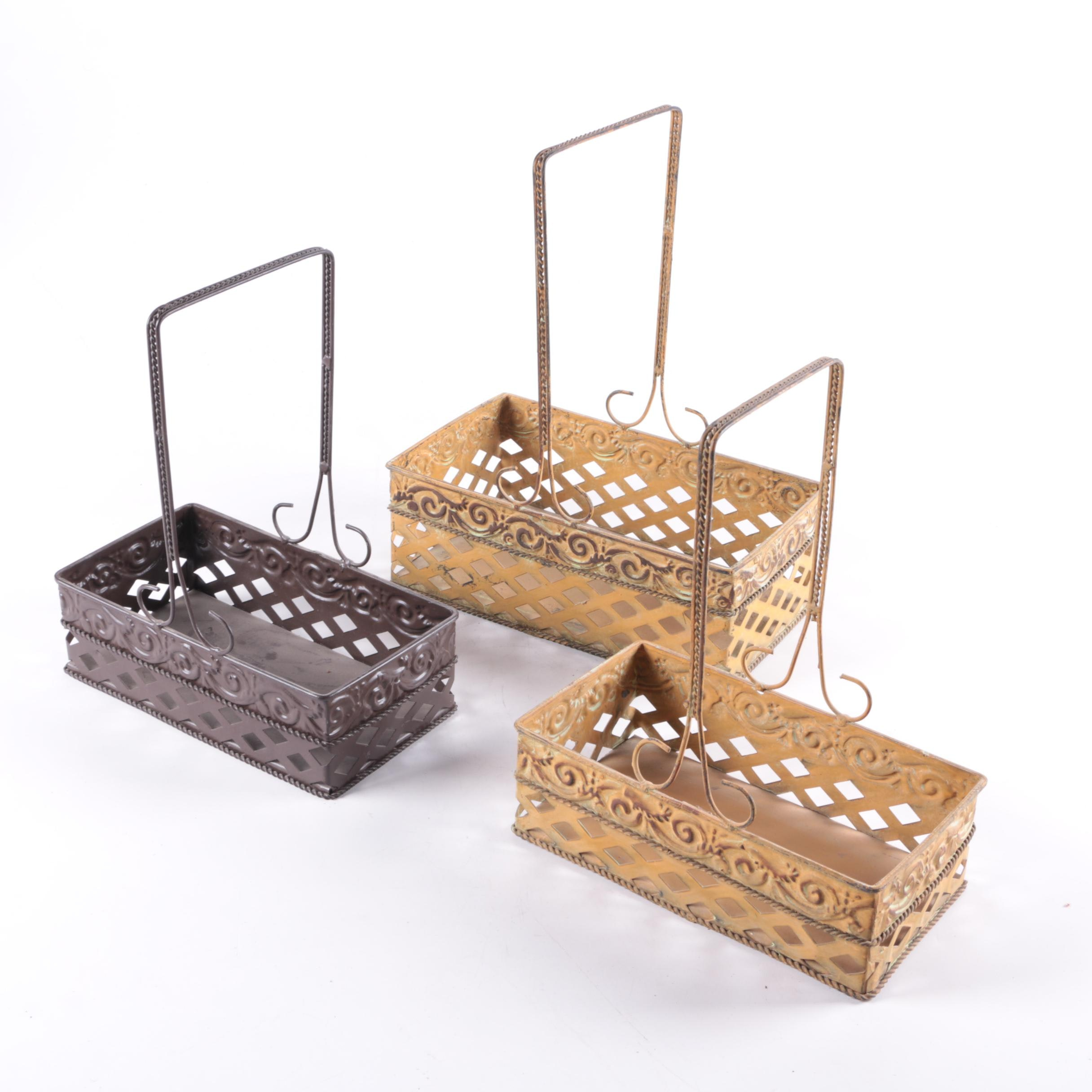 Decorative Metal Baskets