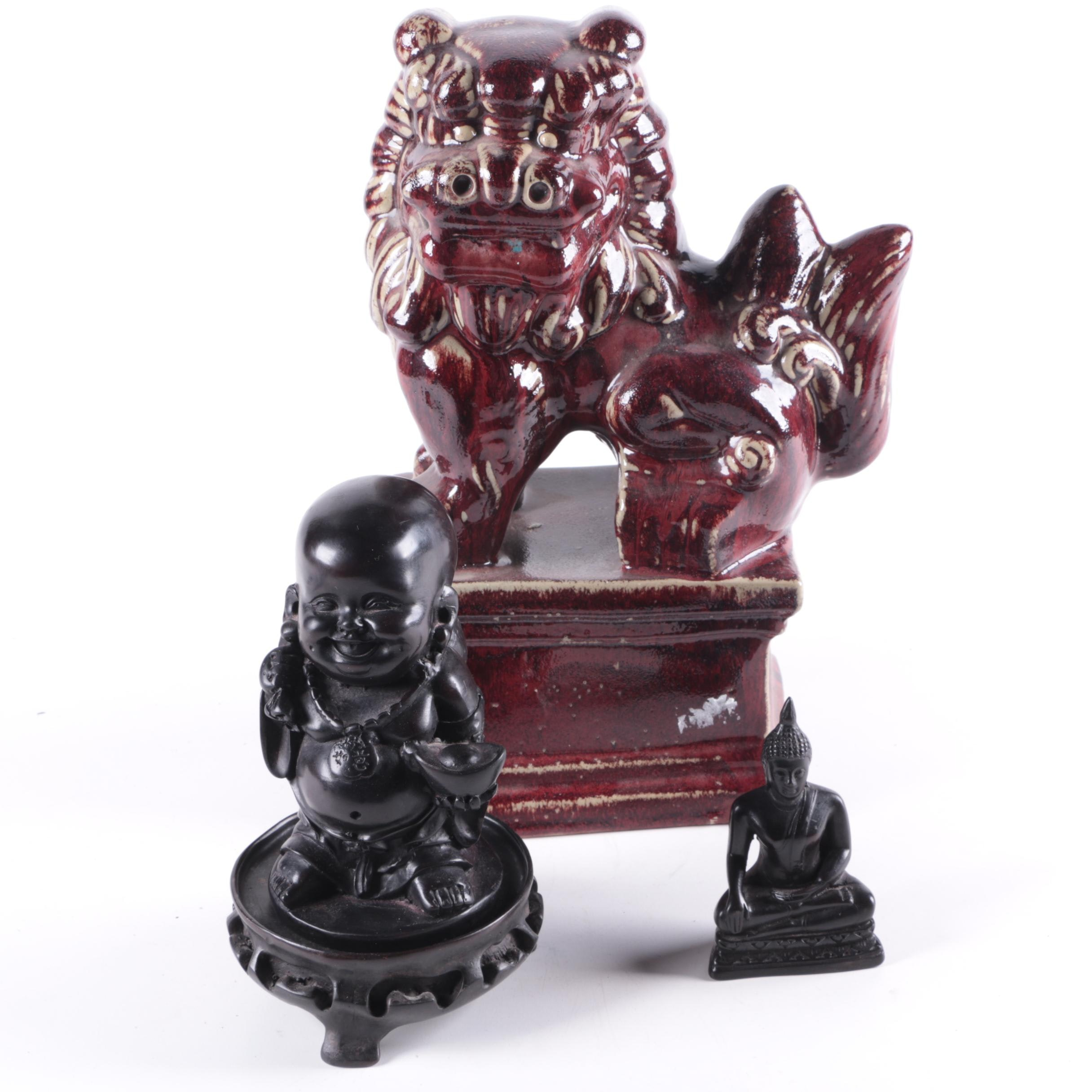 Asian Style Ceramic Decor