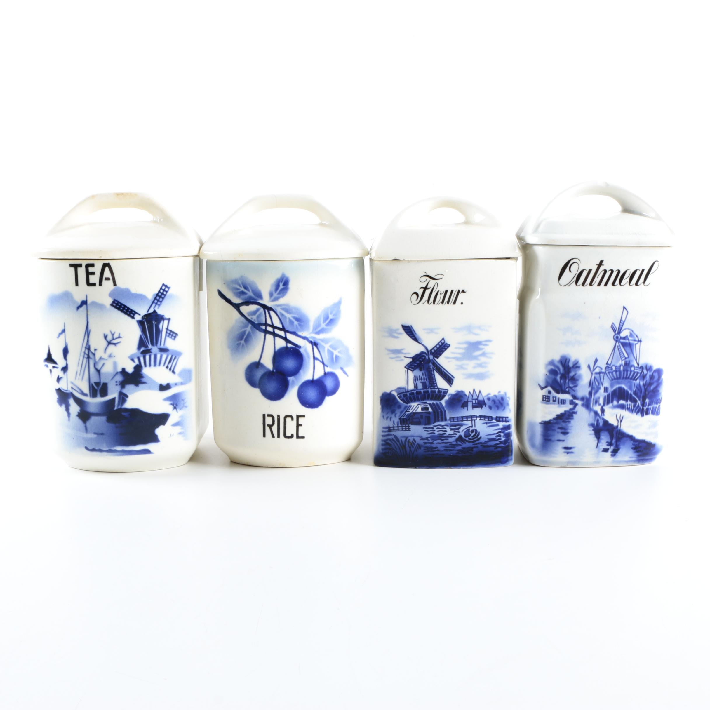 Kitchen Canisters Blue. Affordable Silver With Kitchen Canisters ...