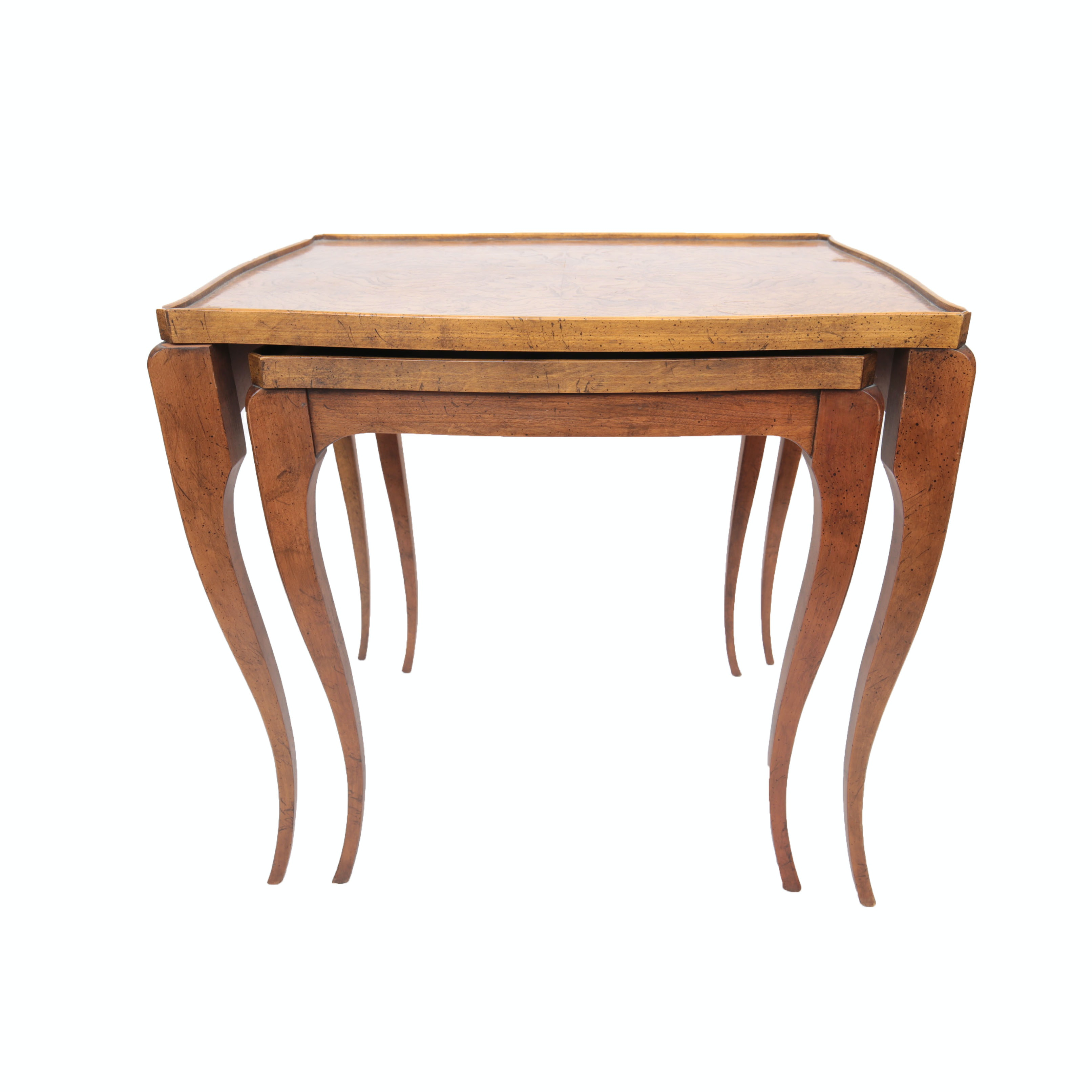 Louis XV Style Nesting Tables by Baker Furniture