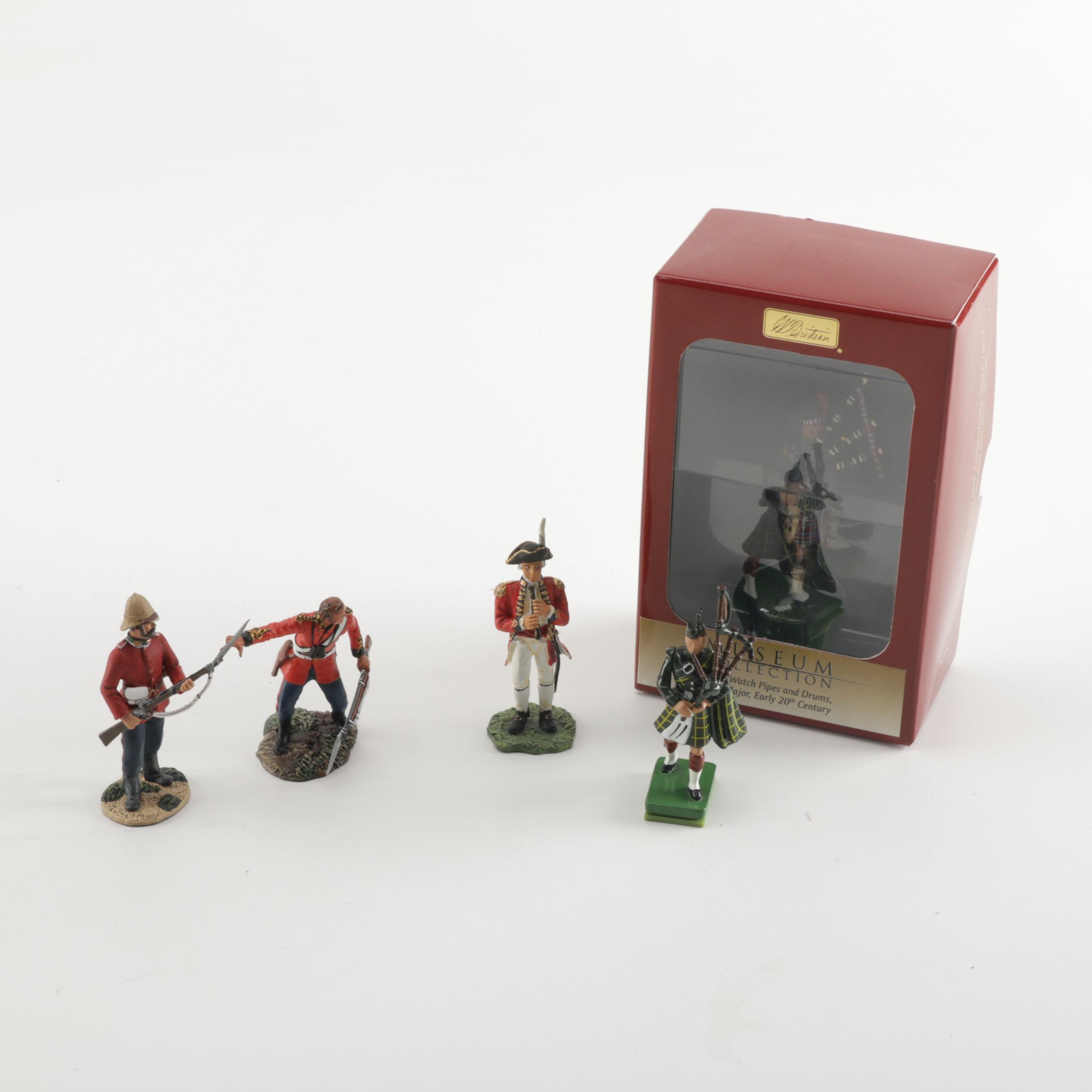 Miniature Metal Soldiers Including W. Britain