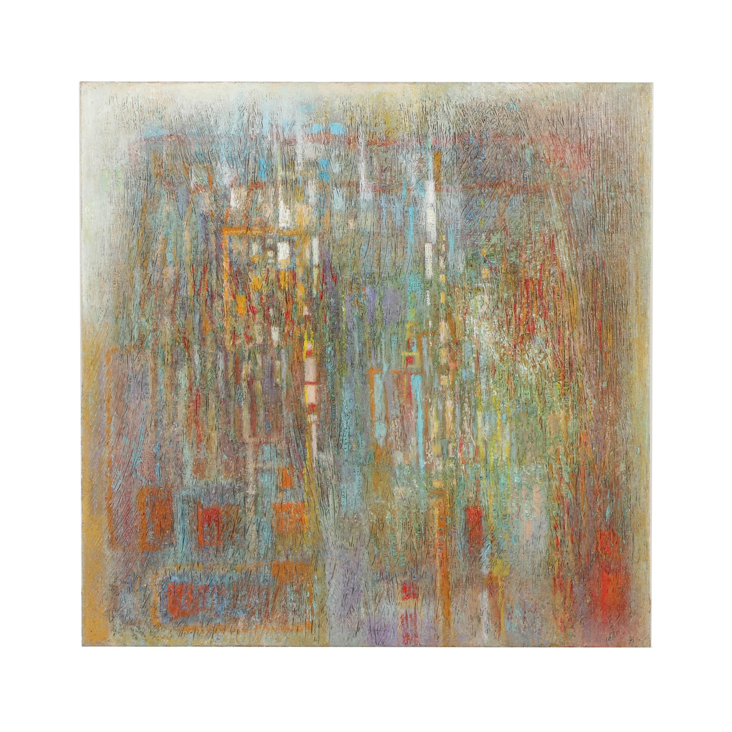"Robert Wells Original Oil Painting on Linen ""Skysnards"""