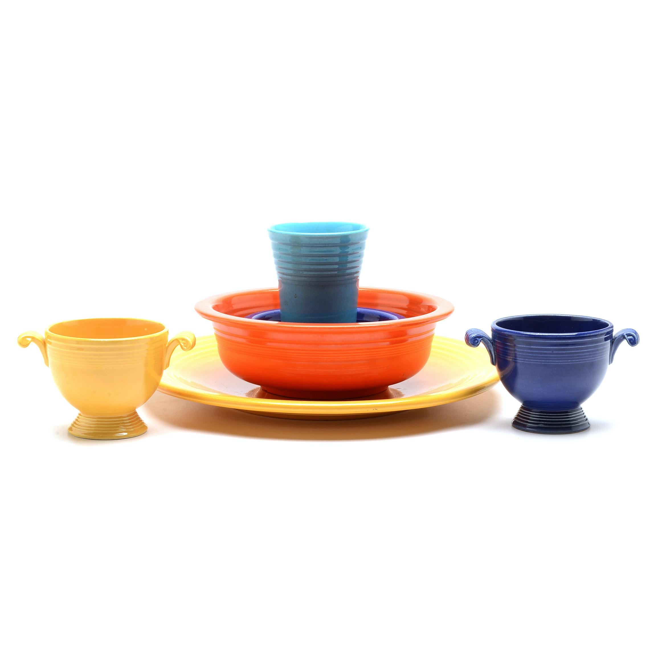 Mixed Group of Vintage Fiestaware