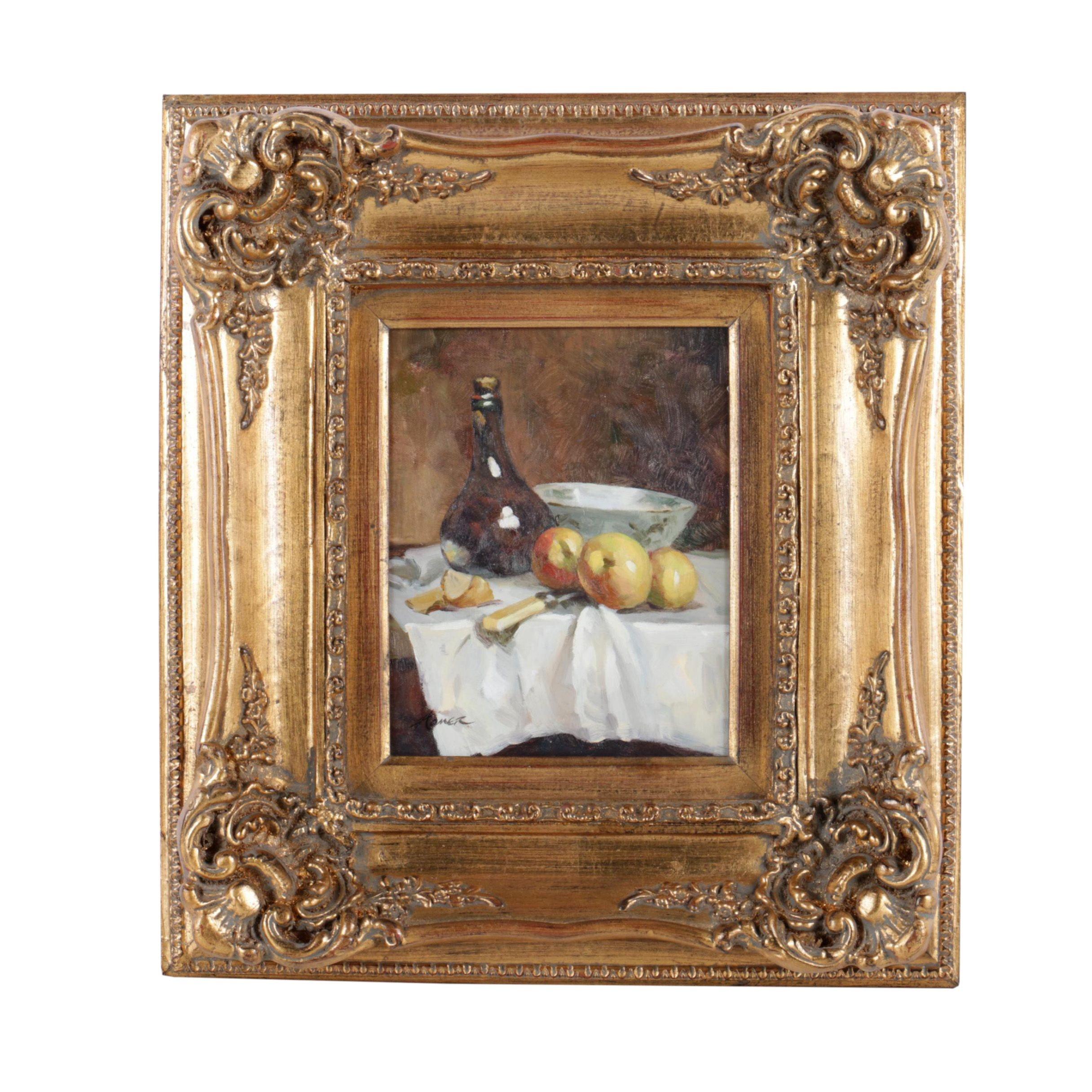 Homer Oil Painting on Canvas of Still Life