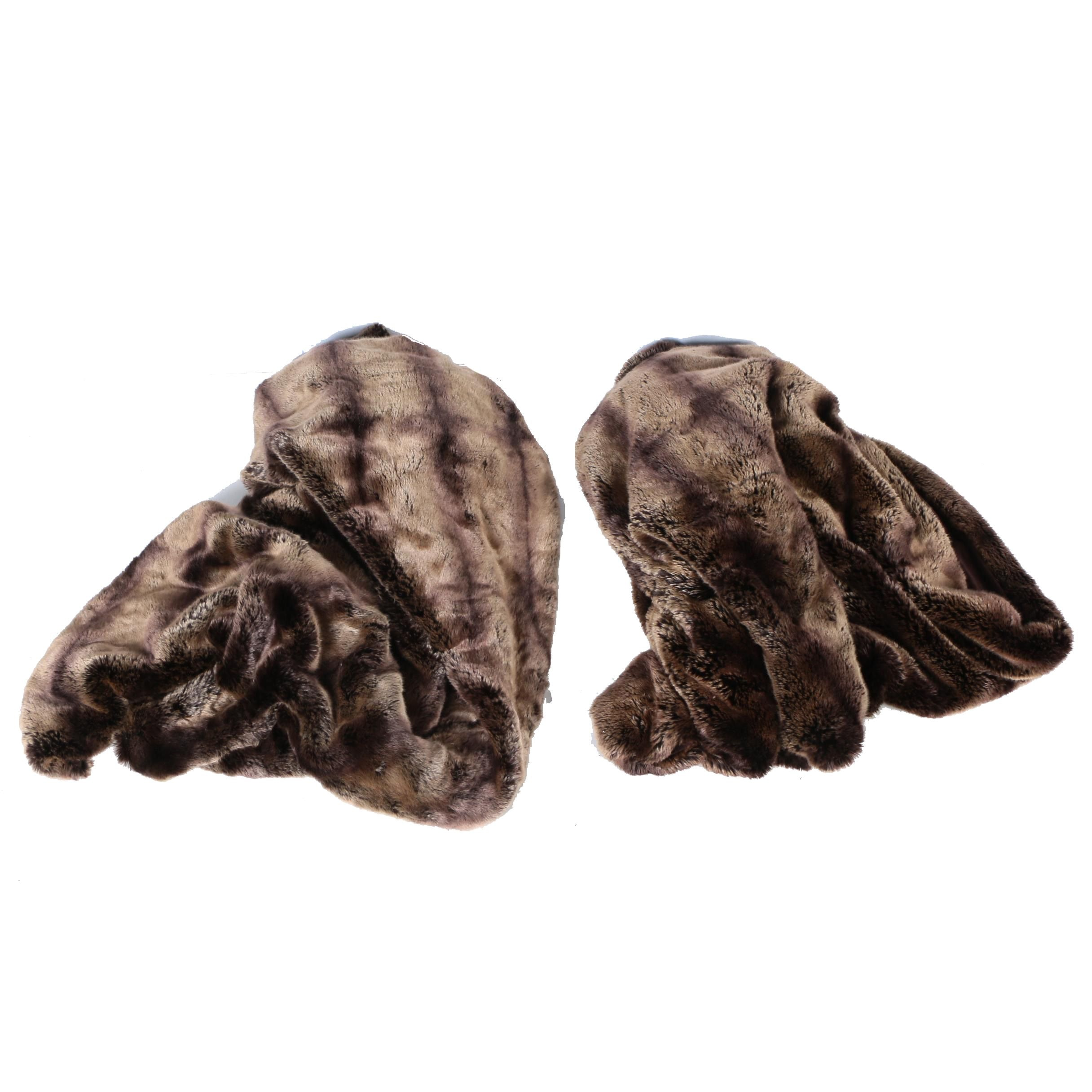 Donna Salyers' Faux Furs Throws