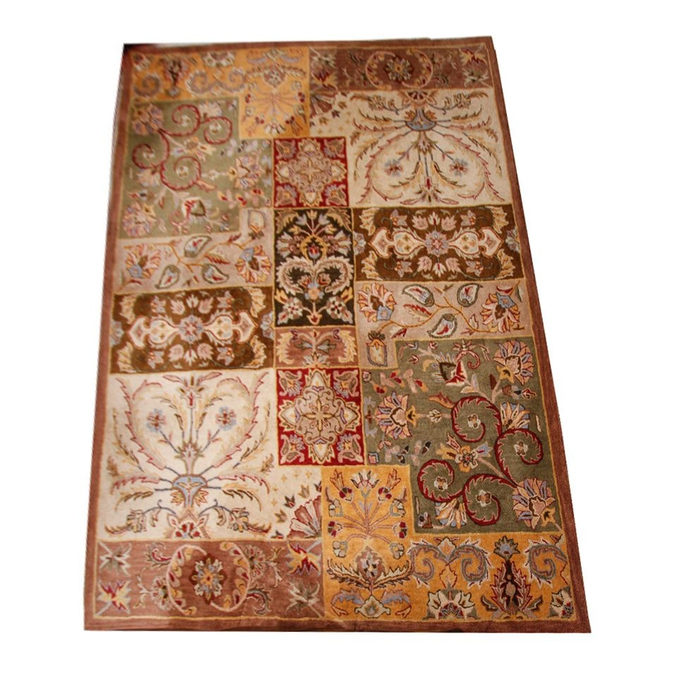 "Hand Tufted Indian ""Windsor"" Wool Area Rug by Oriental Weavers"