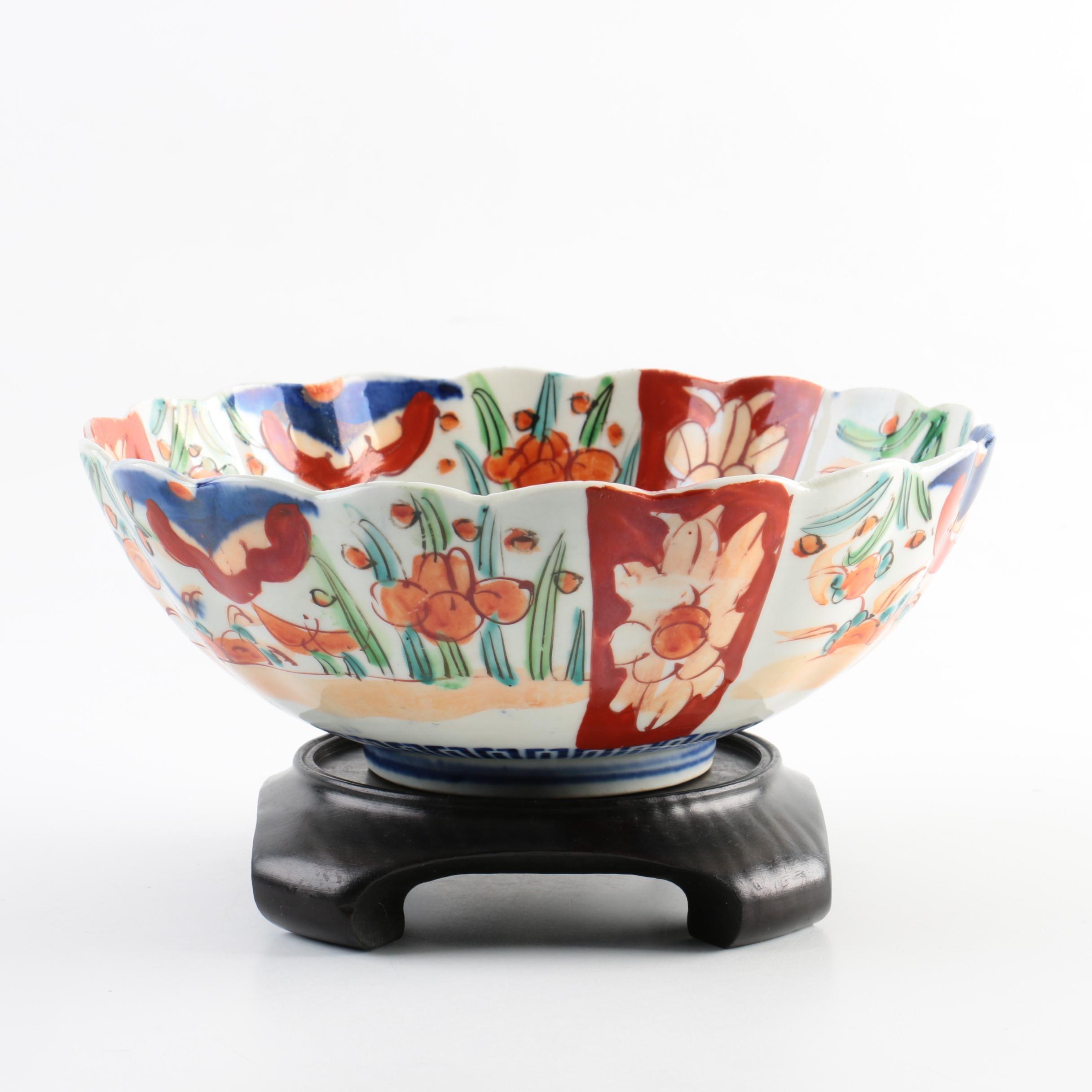 Chinese Porcelain Imari Style Bowl