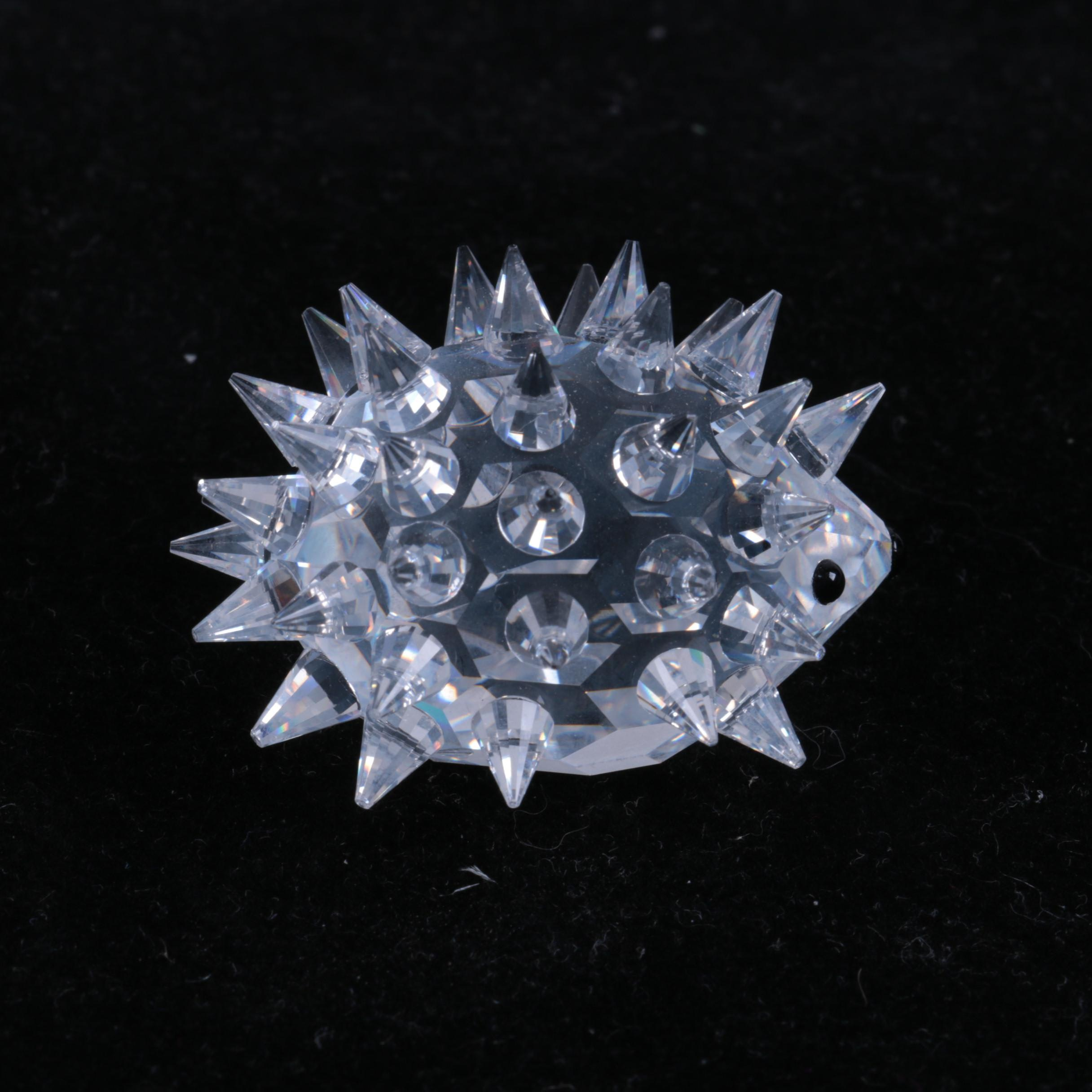 Swarovski Crystal Hedgehog Figurine