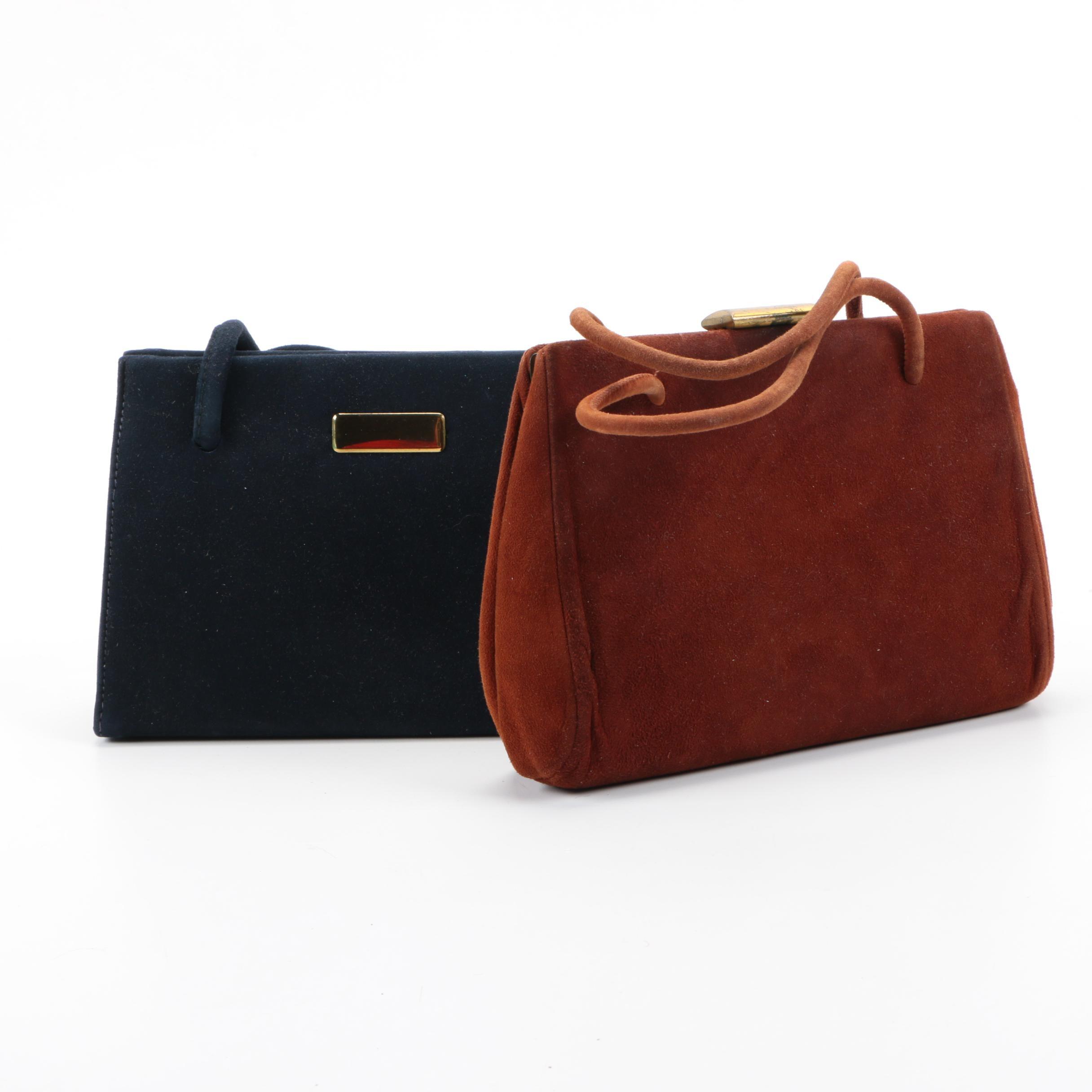 Vintage Suede Handbags