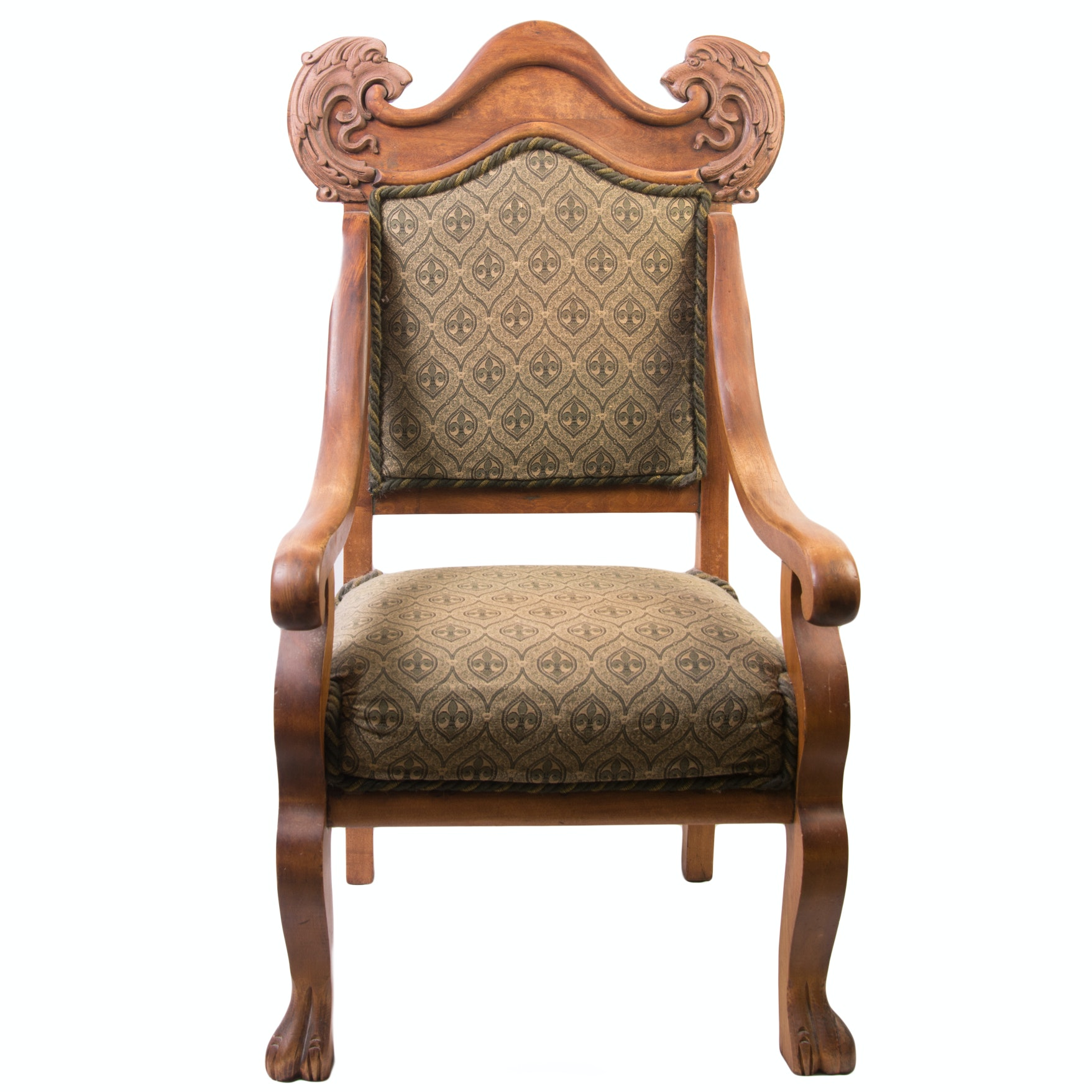 Vintage Renaissance Revival Chair