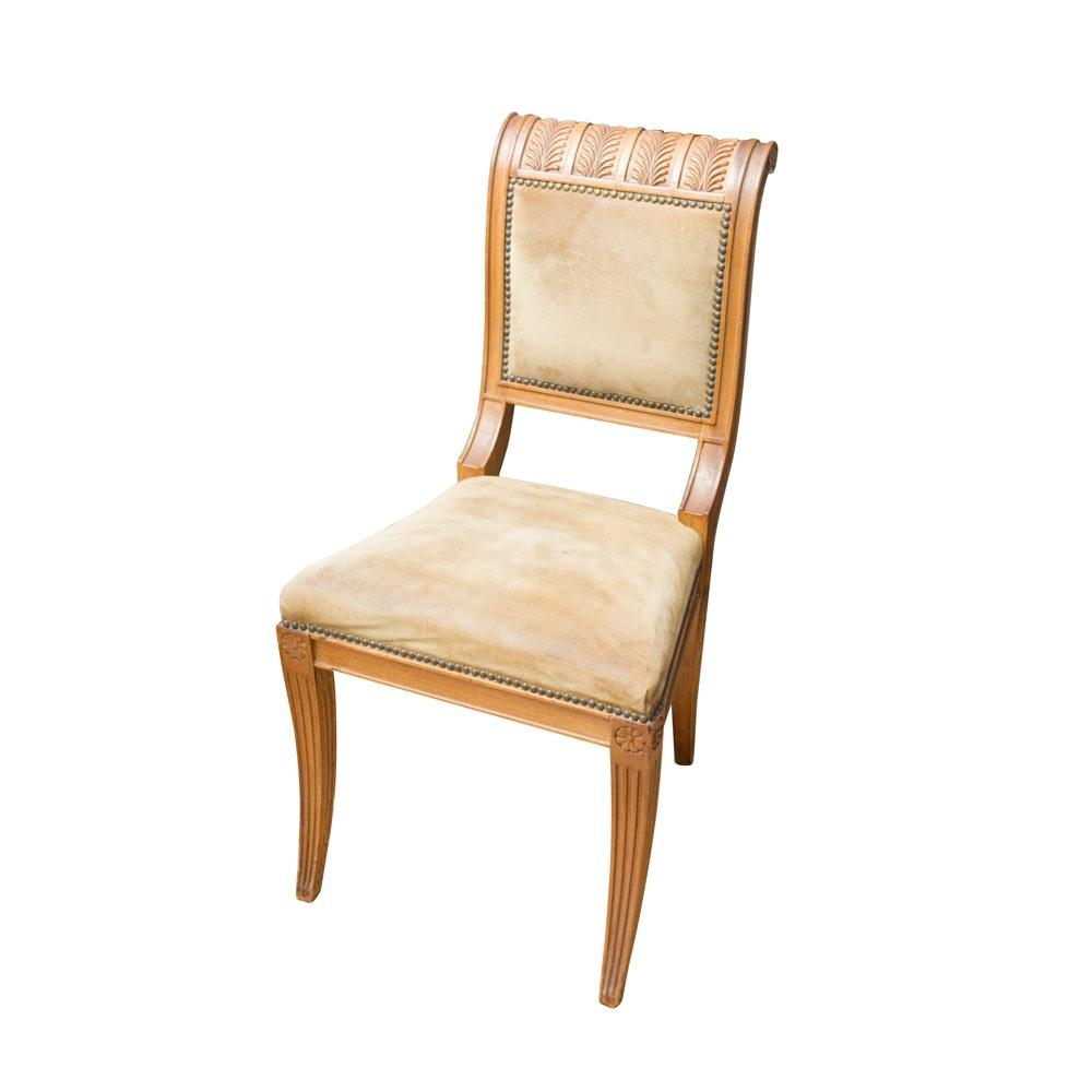 Regency Style Mahogany Side Chair