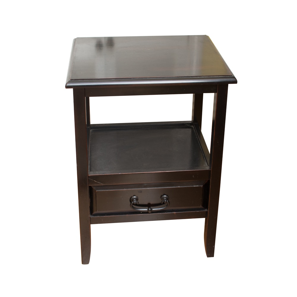 Transitional Style Wooden Table