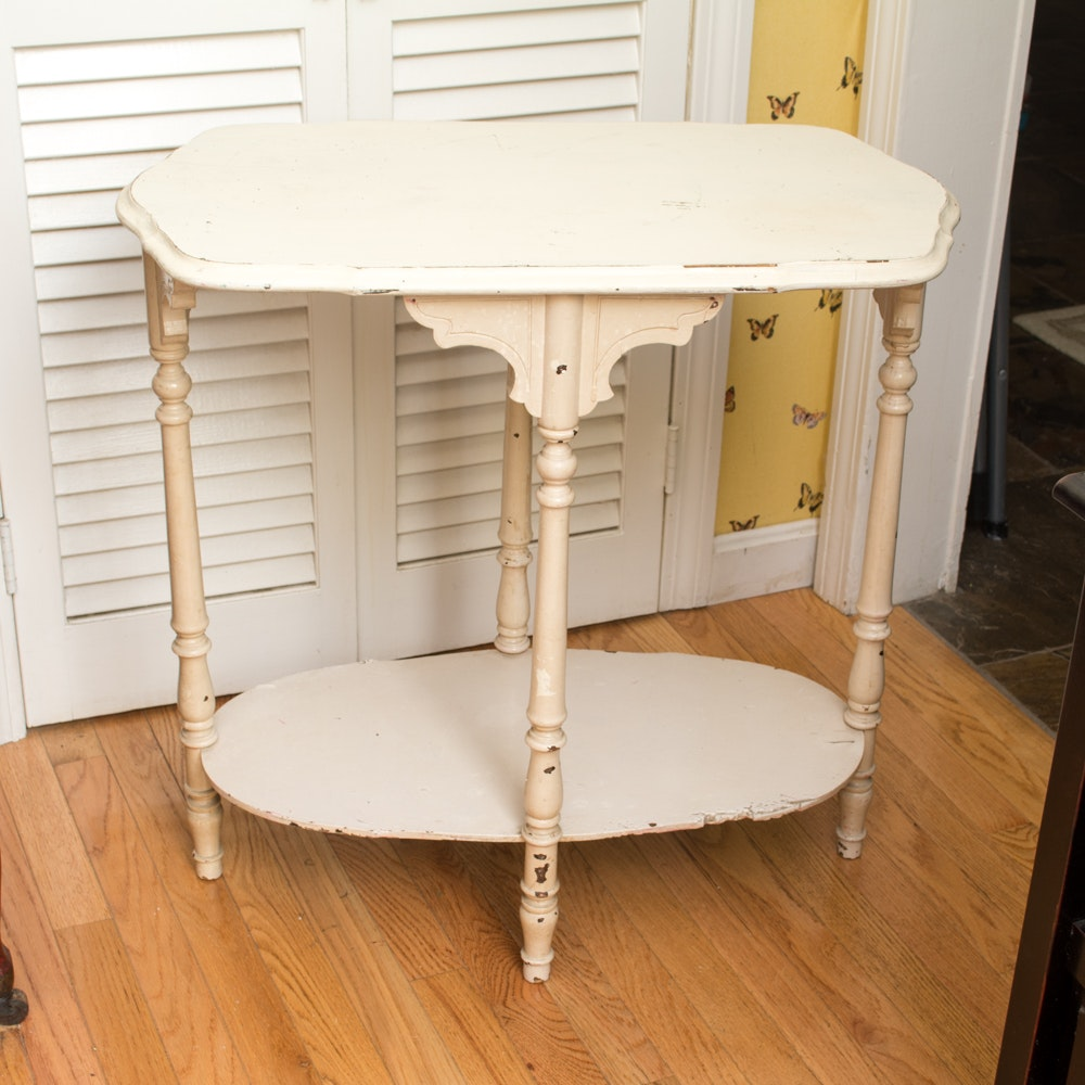 Vintage Painted Side Table