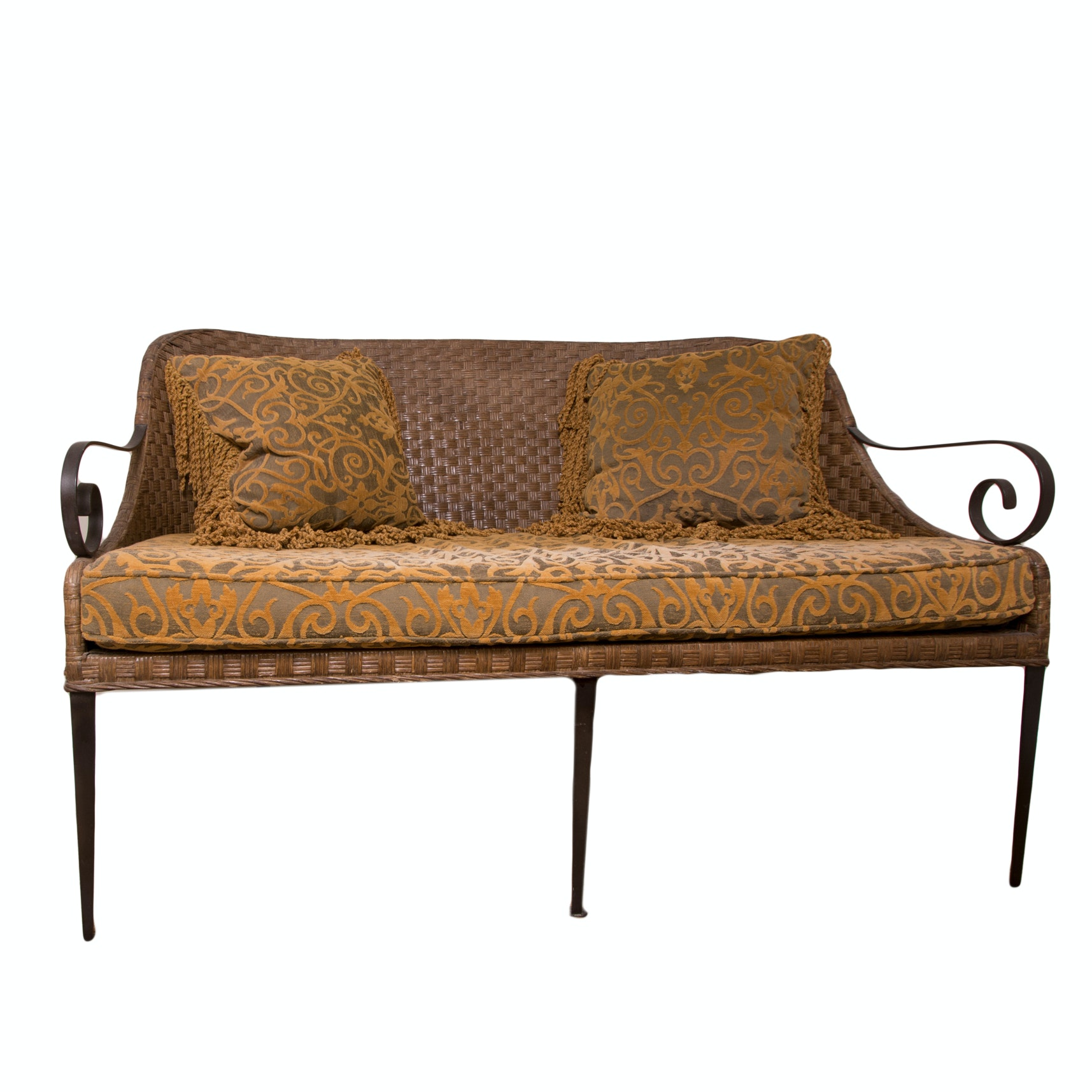 Patio Settee by Lane Venture