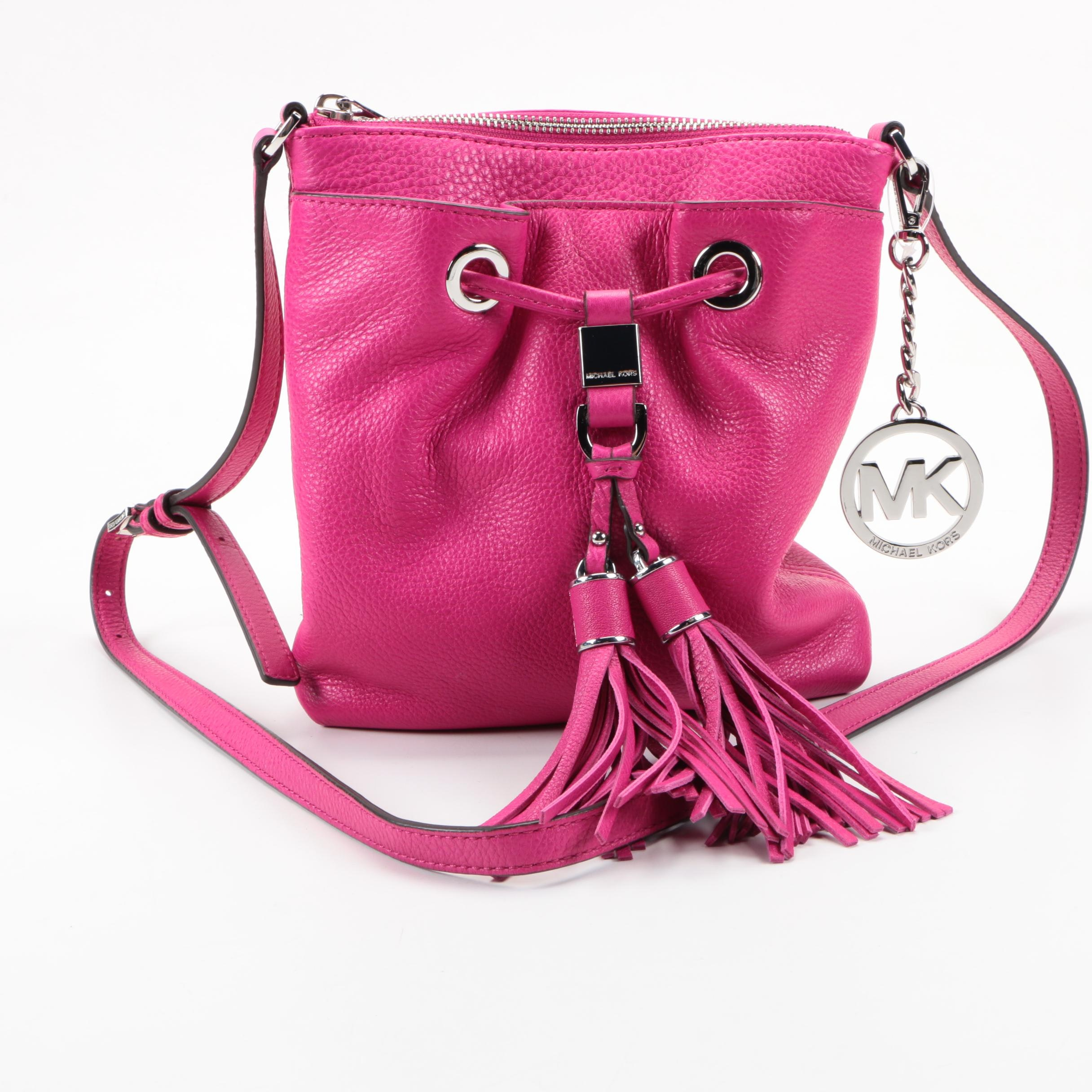 MICHAEL Michael Kors Pink Leather Crossbody Bag