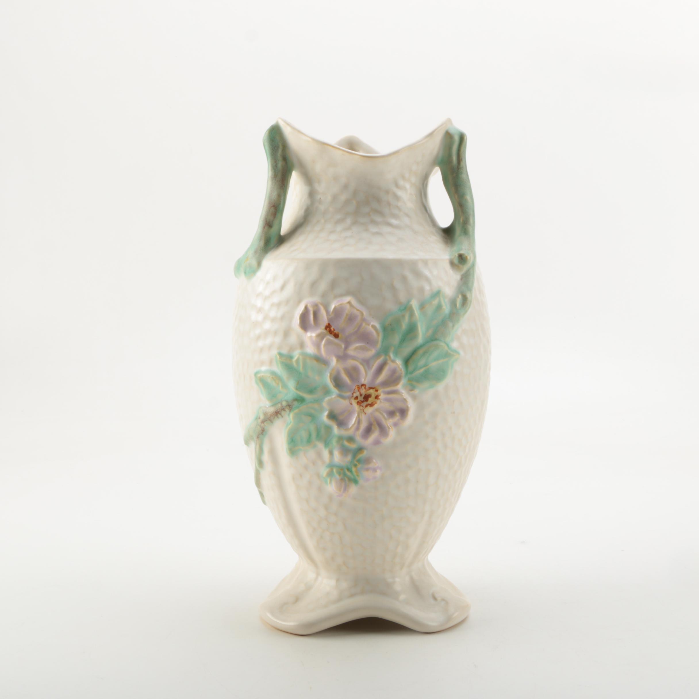 Vintage Weller Pottery Floral Vase