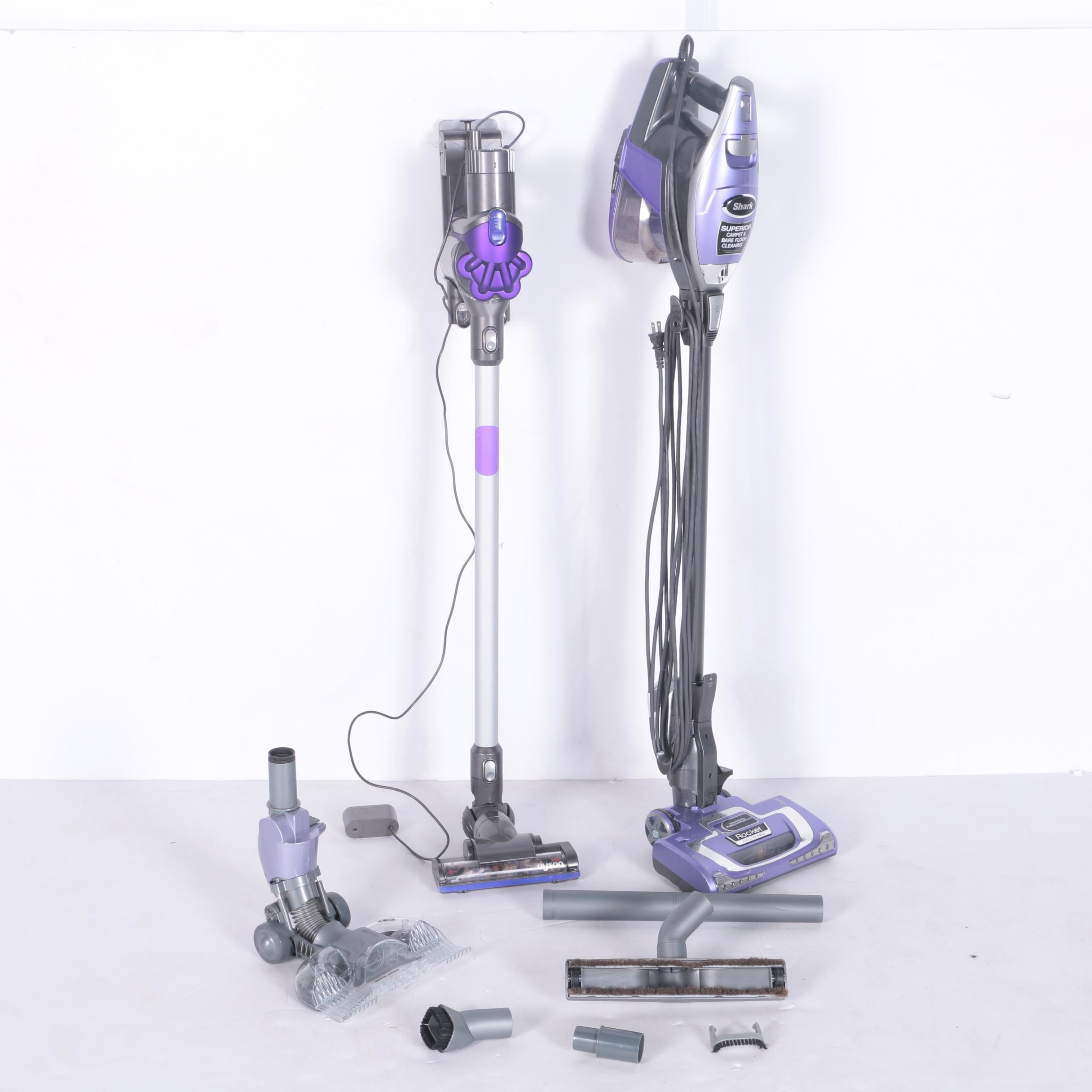 Shark and Dyson Vacuum Cleaners