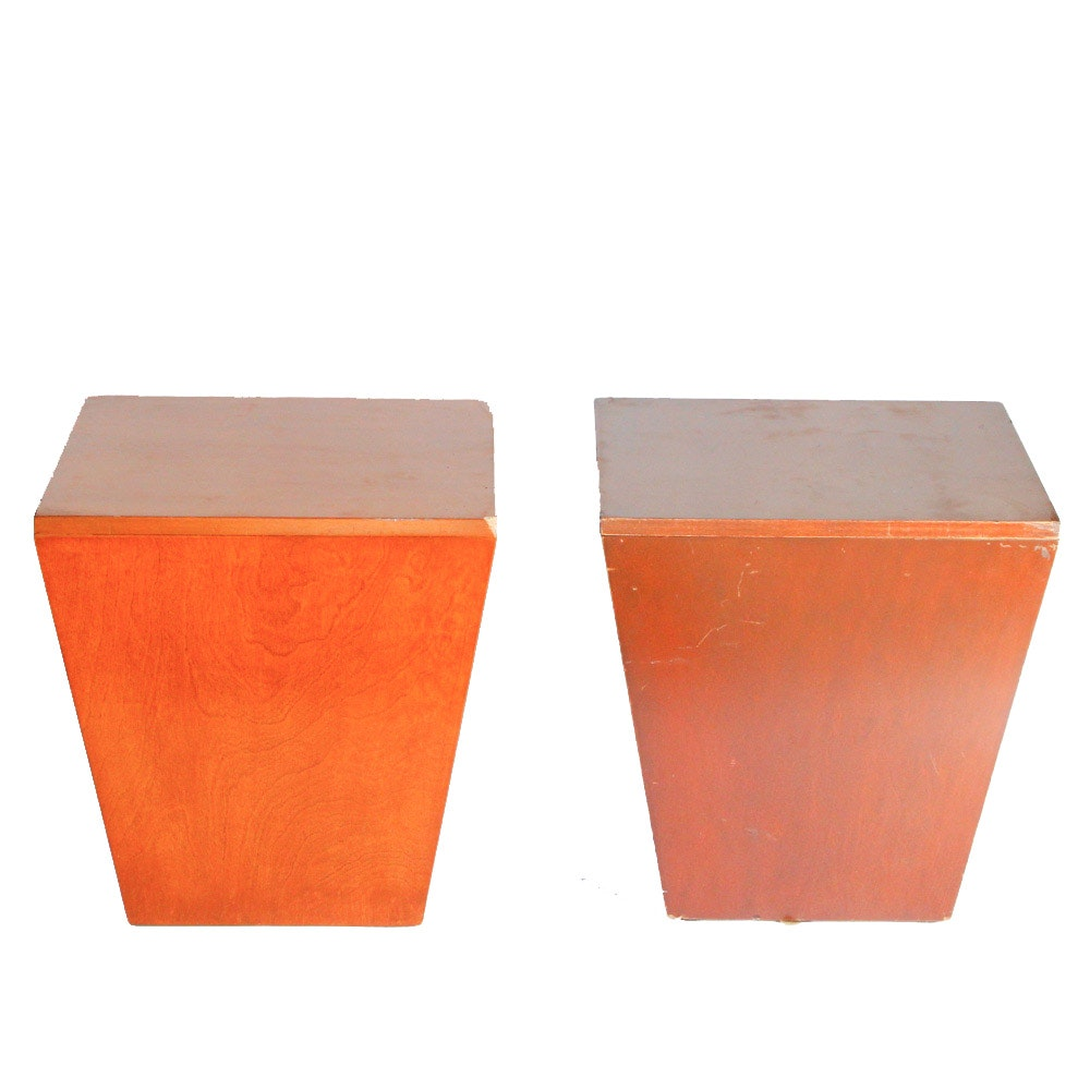 Pair of Vintage Side Tables by Omega Rentals