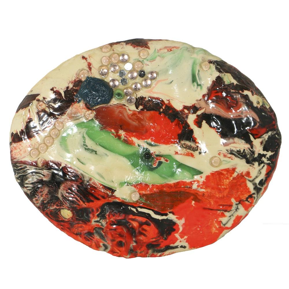"Graham Peacock Acrylic on Canvas ""Scotch Pinicle"""