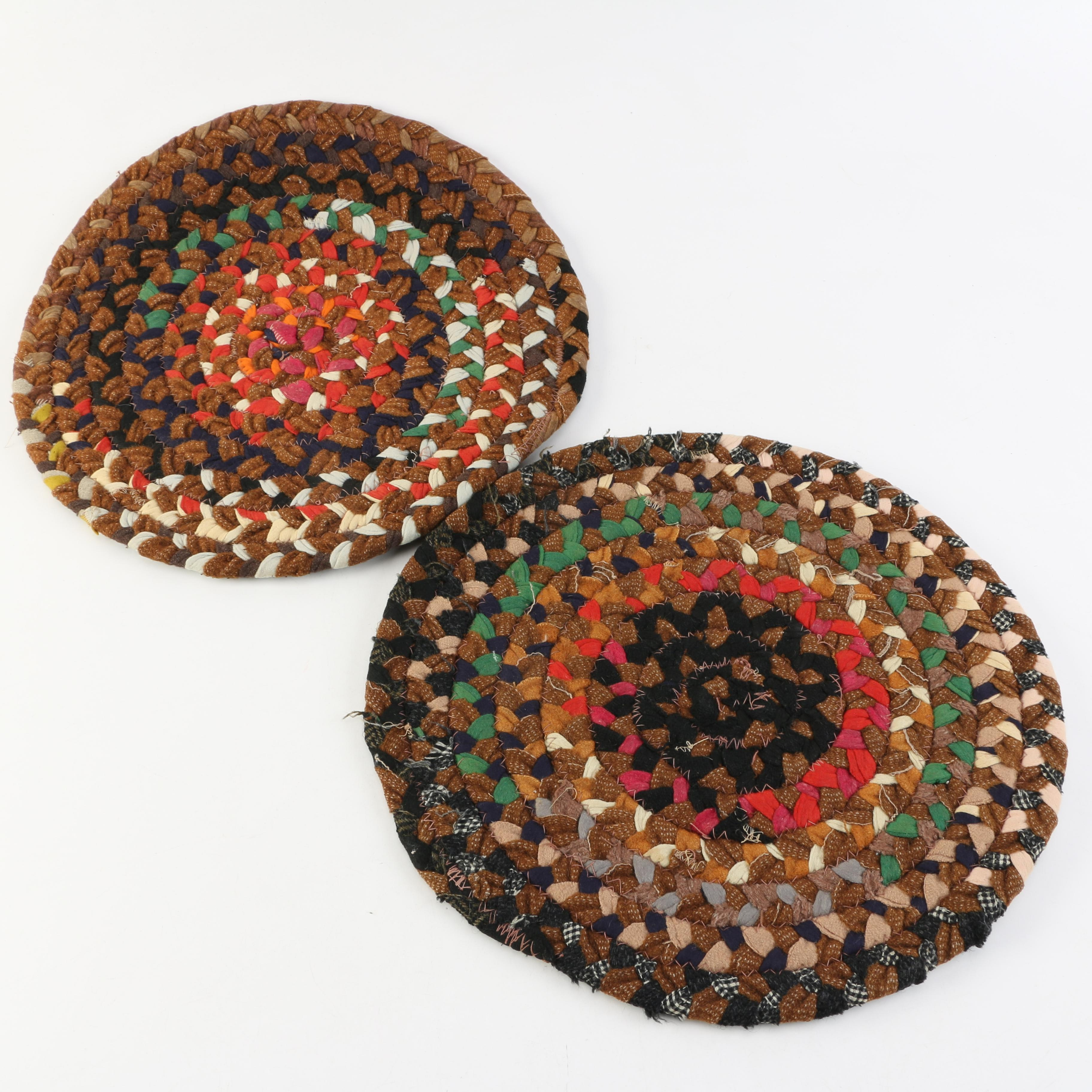 Pair of Braided Trivets