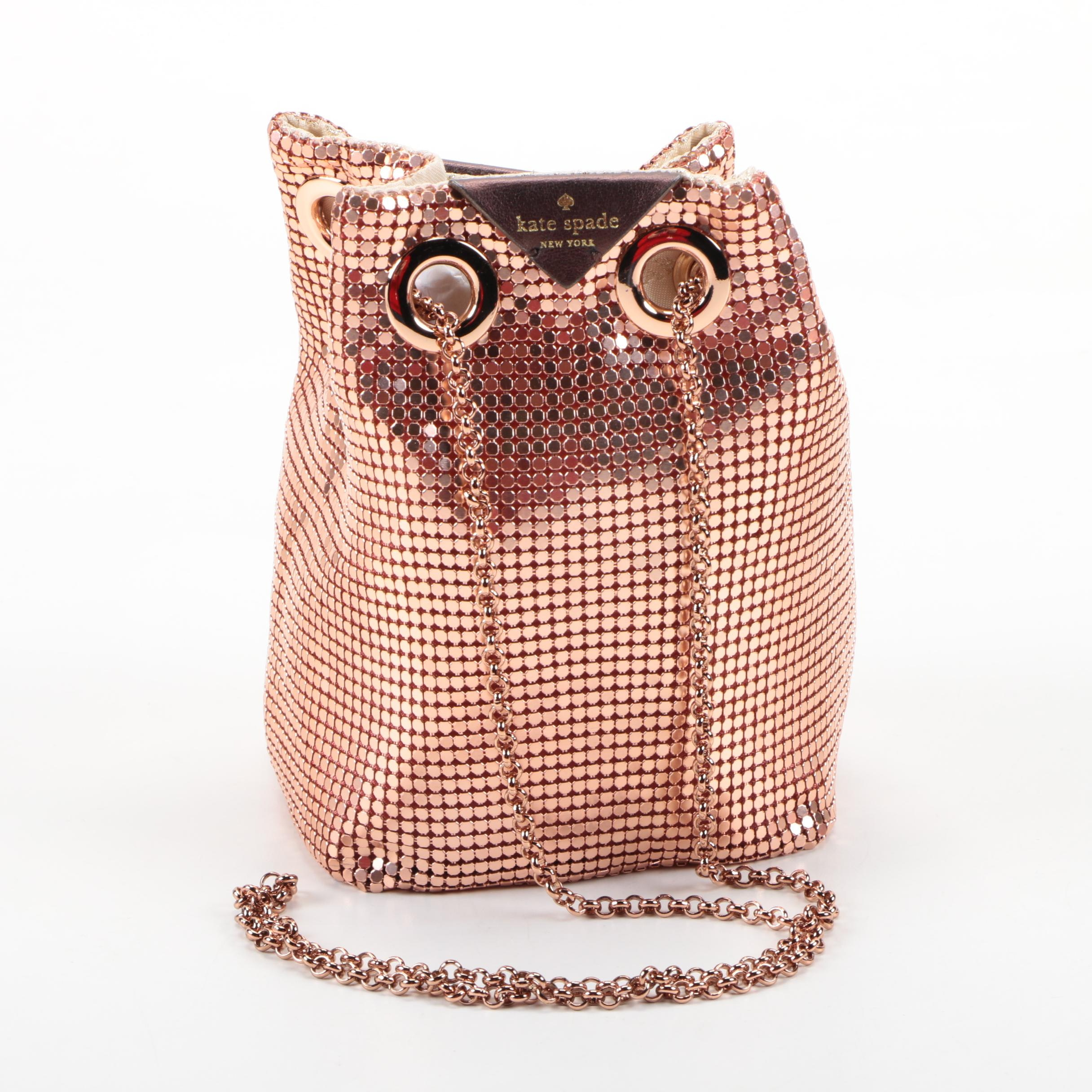 Kate Spade Night Owl Mesh Handbag