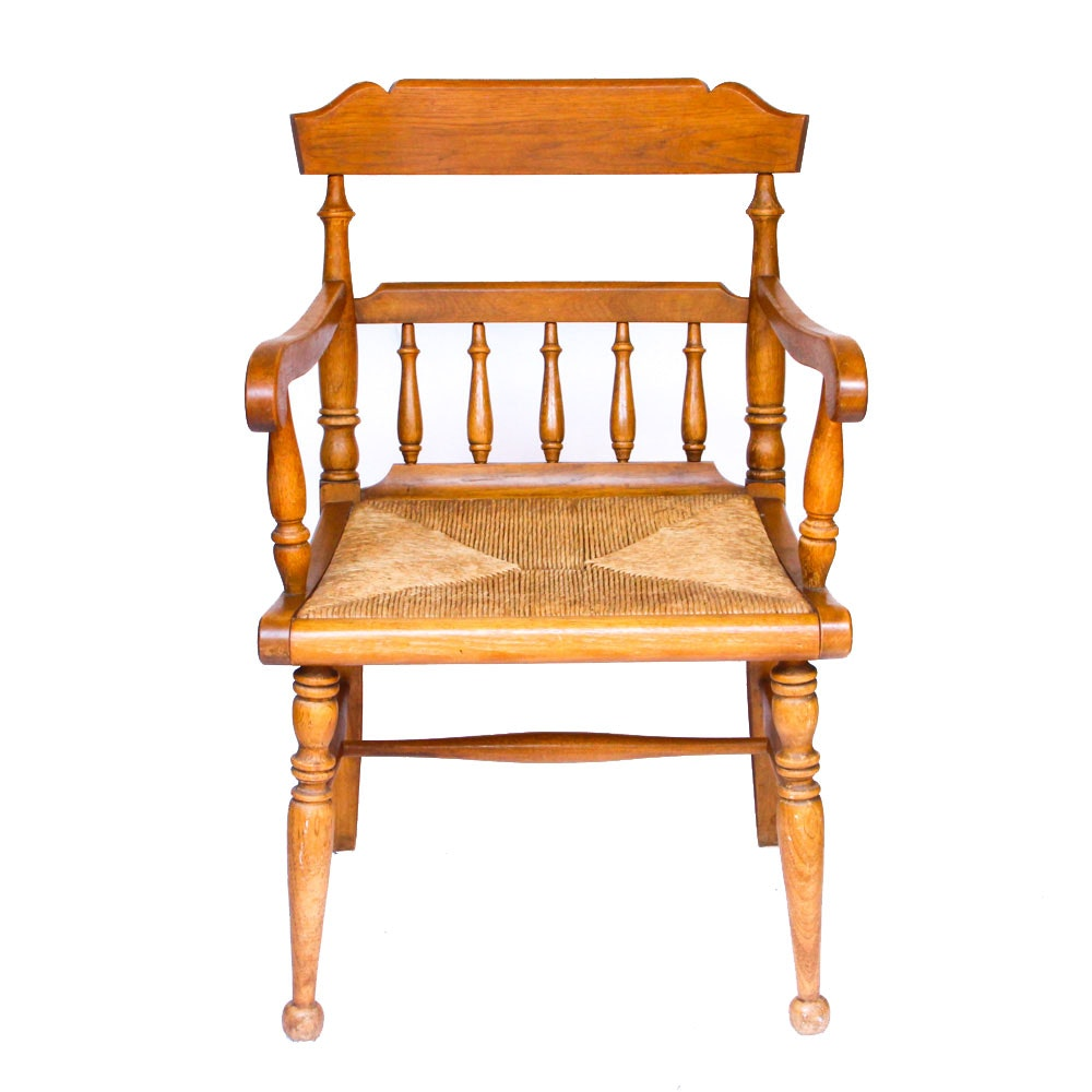 Rush Seat Armchair