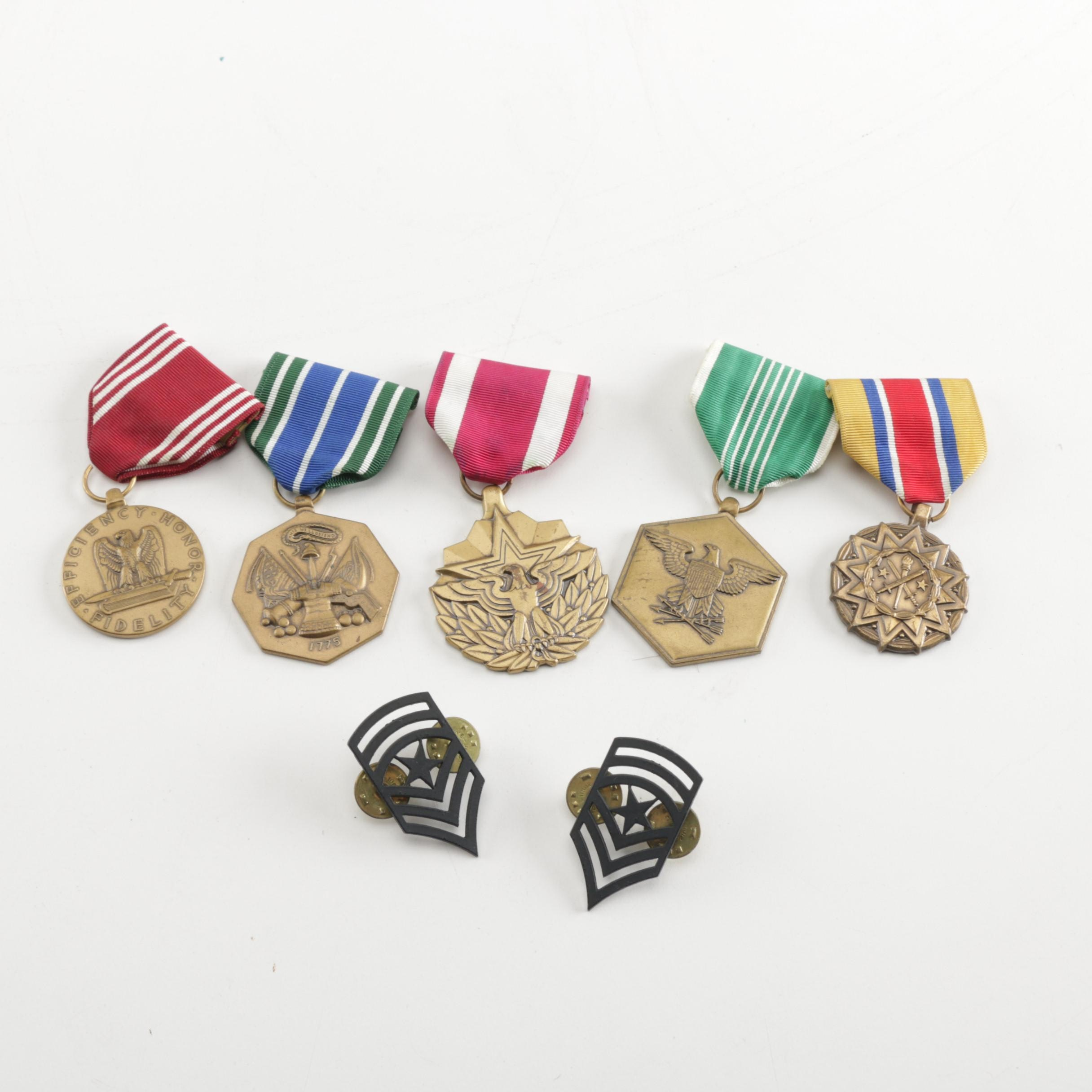 Assortment of US Army Medals