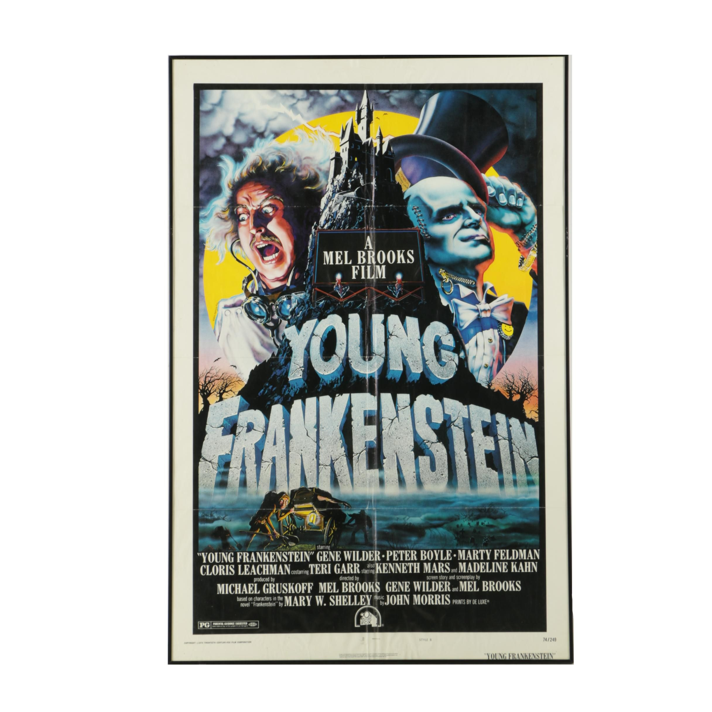 """""""Young Frankenstein"""" 1974 Original NSS-Issued Movie Poster"""