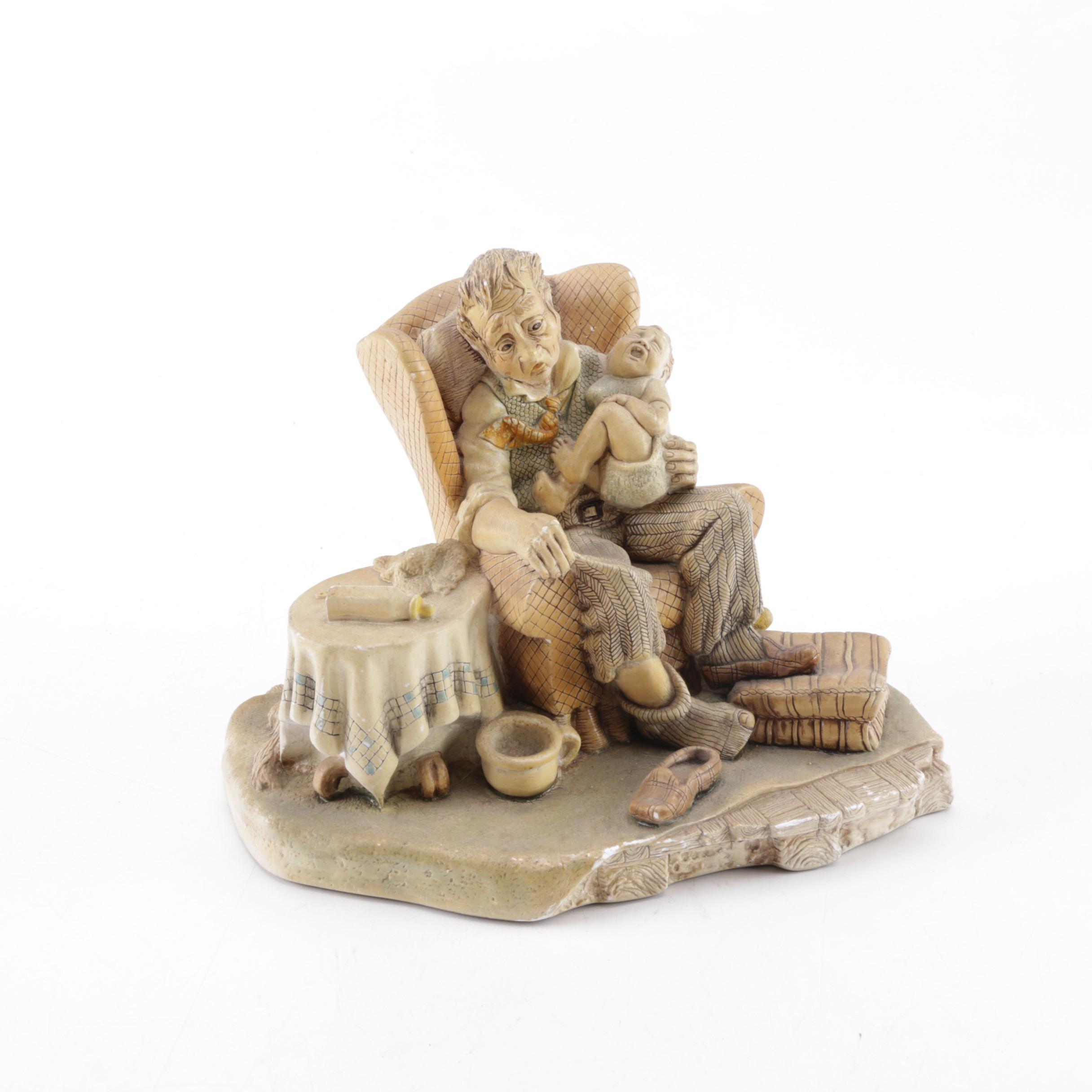 "NatureCraft ""Granddad's Darling"" Stoneware Figurine"