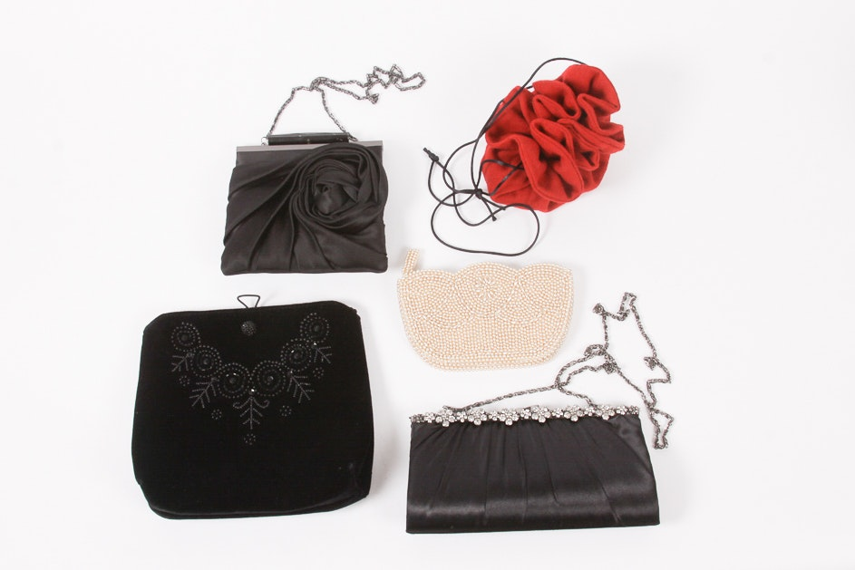 Vintage Handbags Including Kate Landry and Laura Ashley