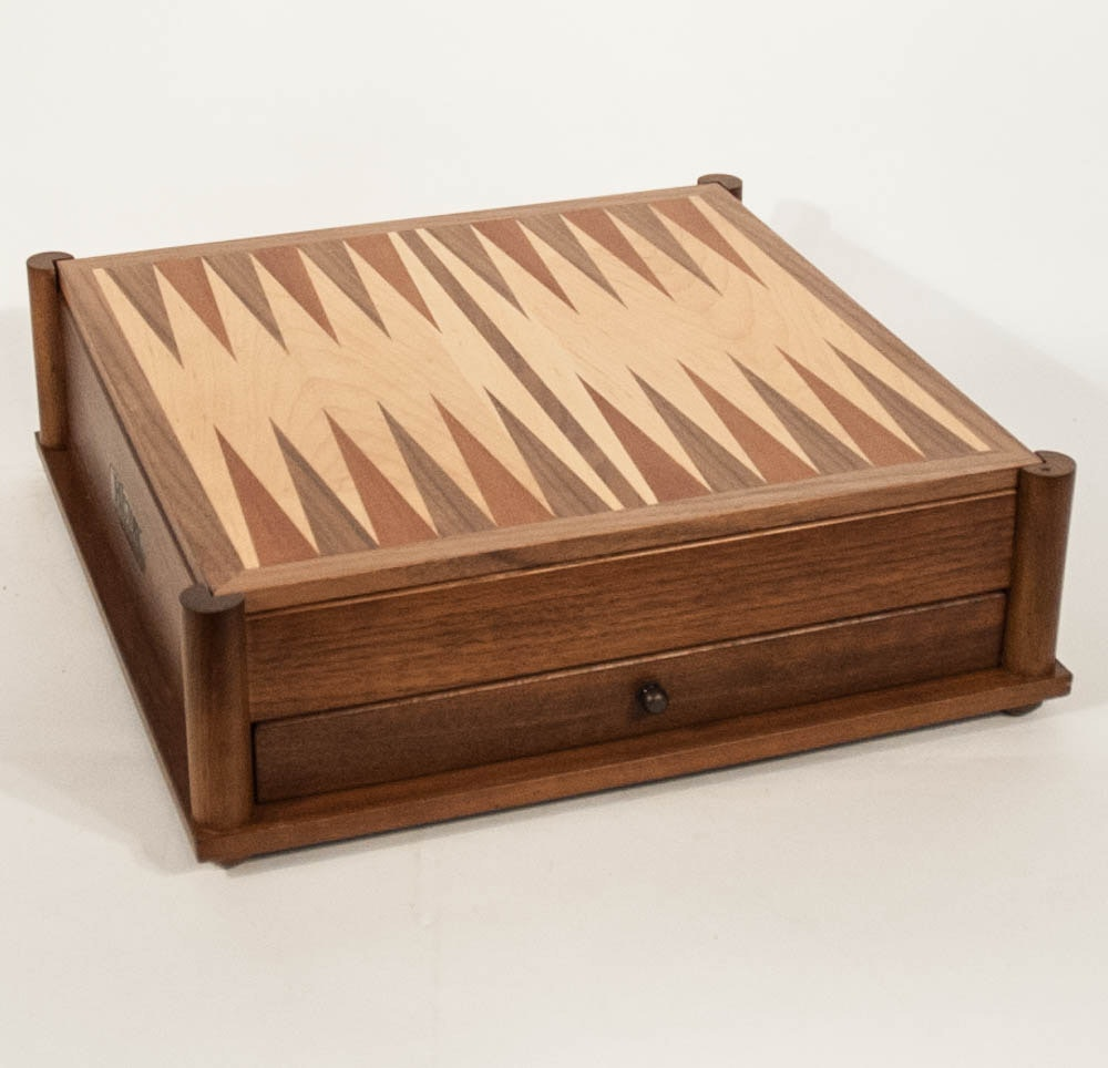History Channel Club Game Board Chest
