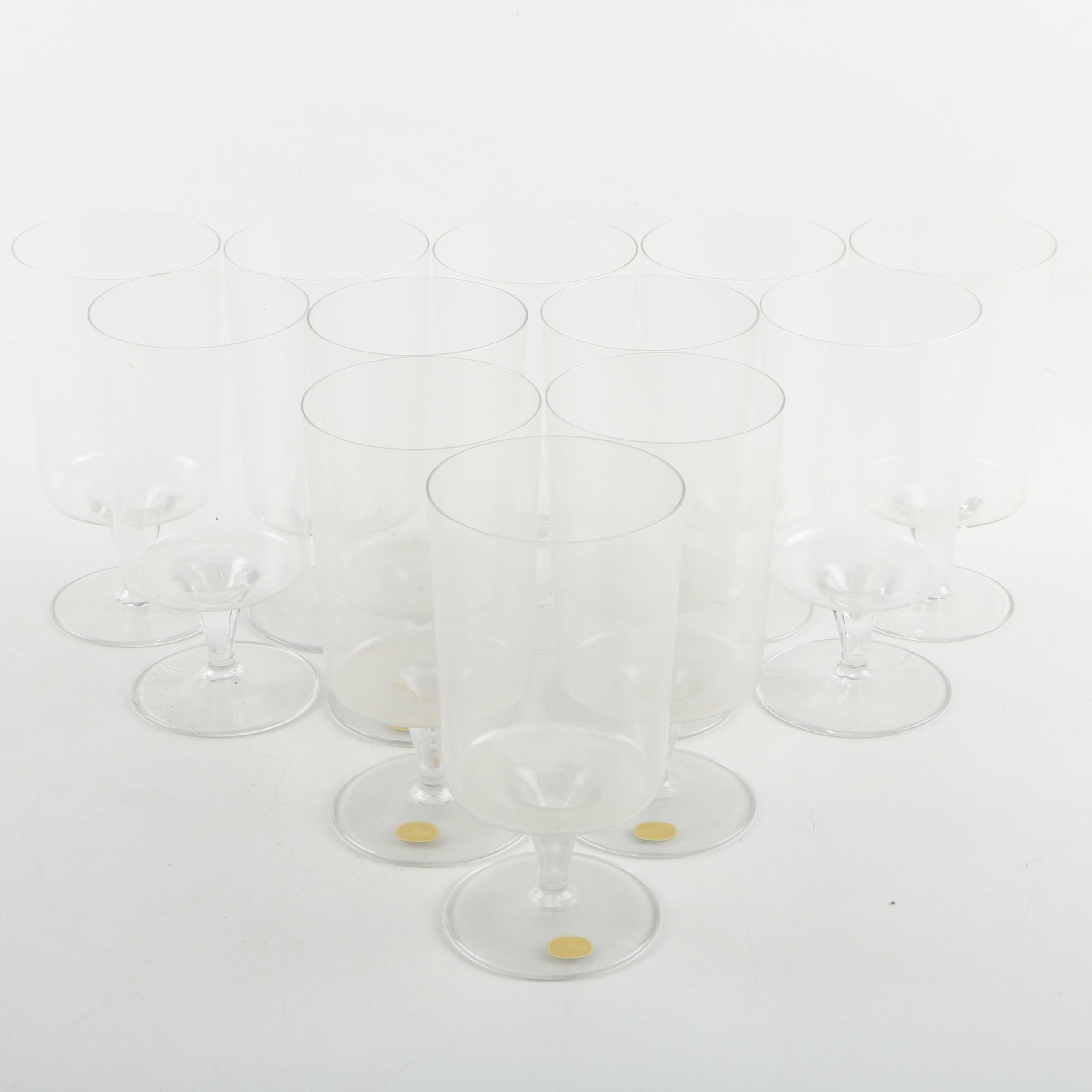 """Rosenthal """"Composition G"""" Water Goblets"""