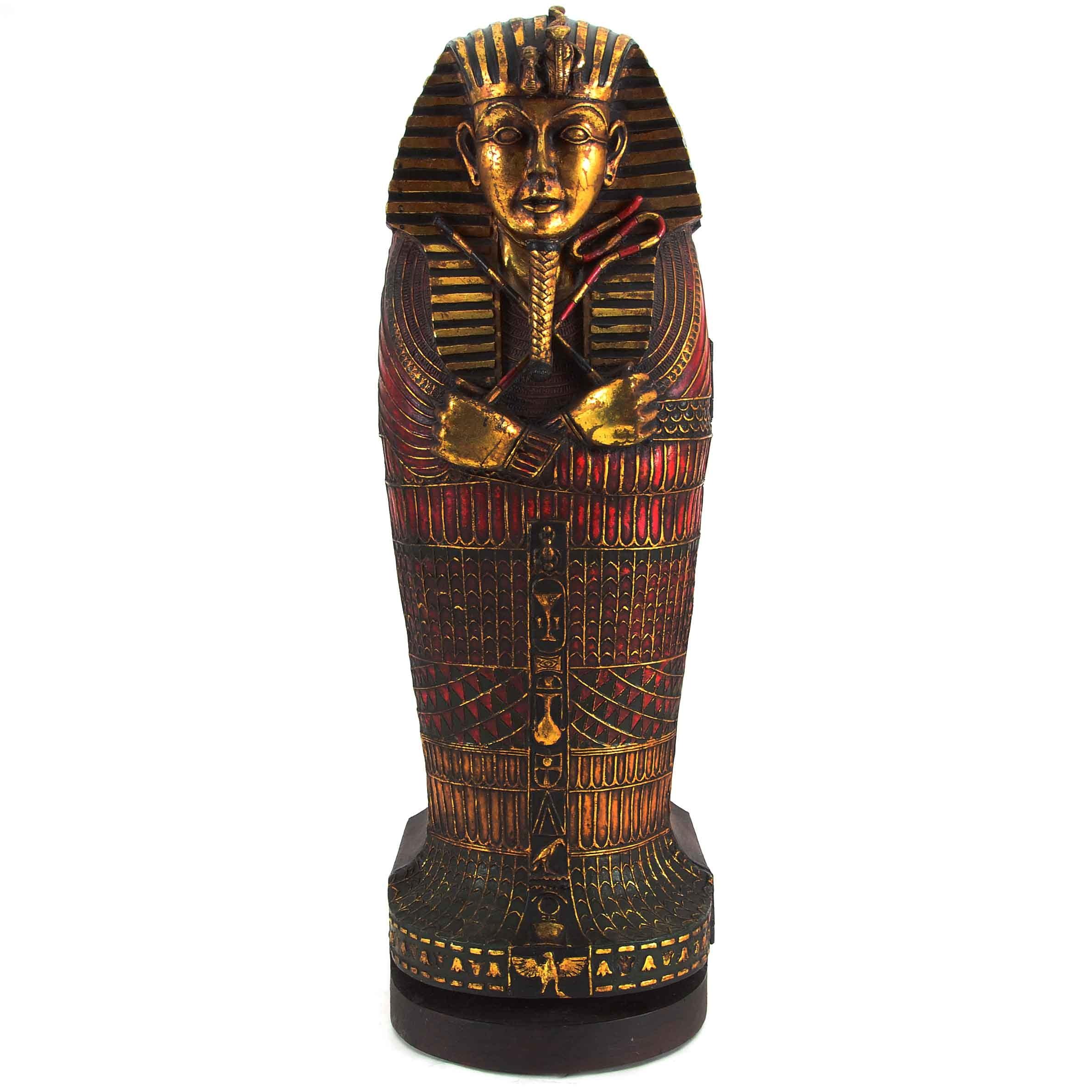 King Tutankhamen Sarcophagus Cabinet