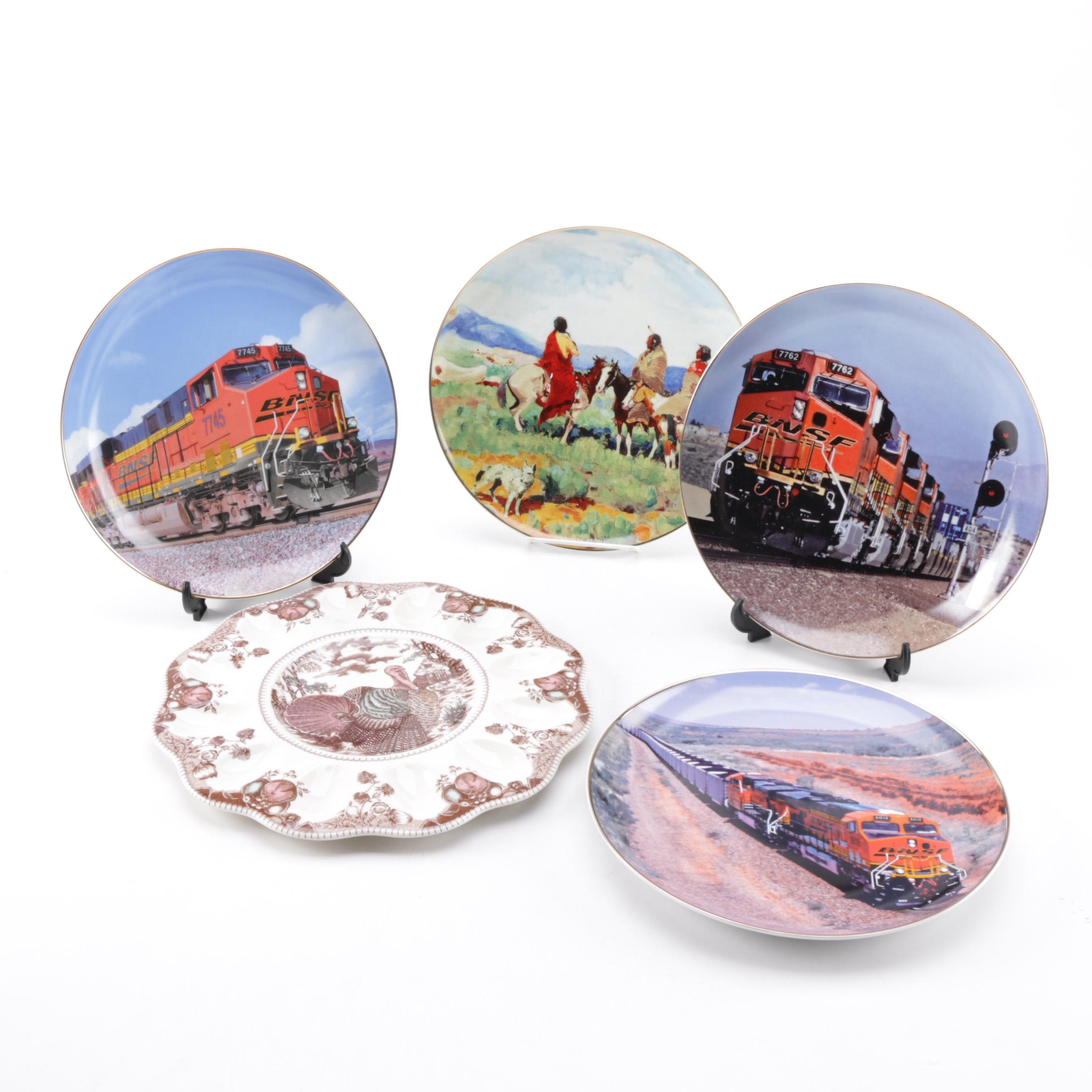 Collectible Plates and Serveware